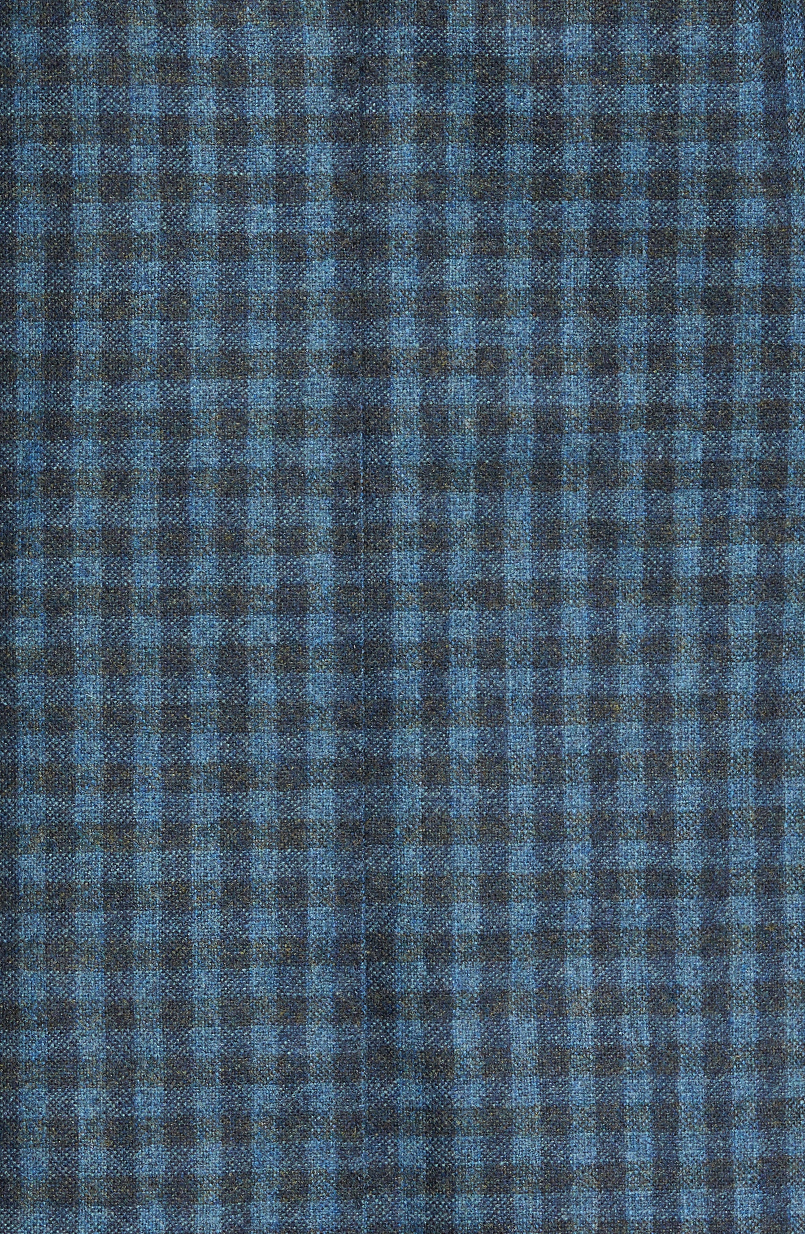 Check Wool Sport Coat,                             Alternate thumbnail 6, color,                             420