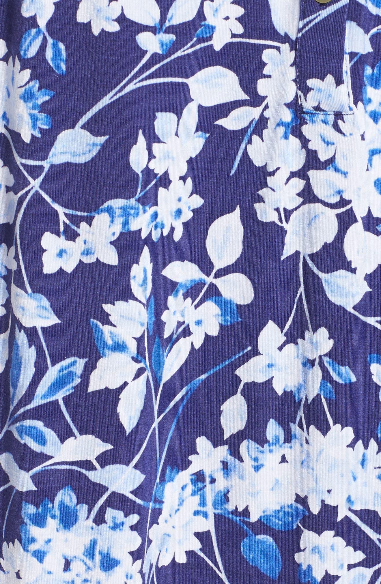 Modal Jersey Waltz Nightgown,                             Alternate thumbnail 5, color,                             400