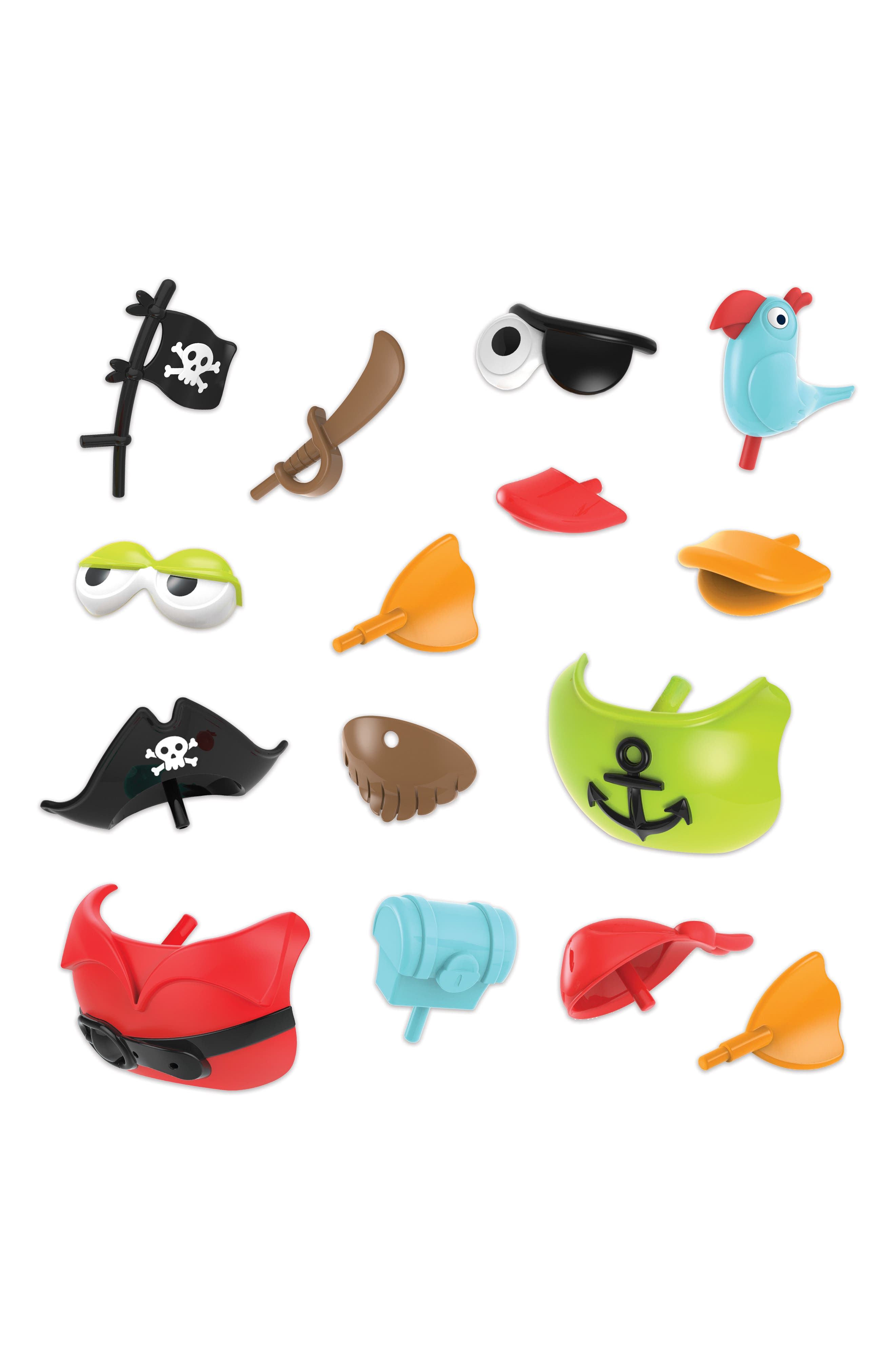 Jet Duck<sup>™</sup> Create a Pirate Bath Toy Kit,                             Alternate thumbnail 3, color,                             YELLOW