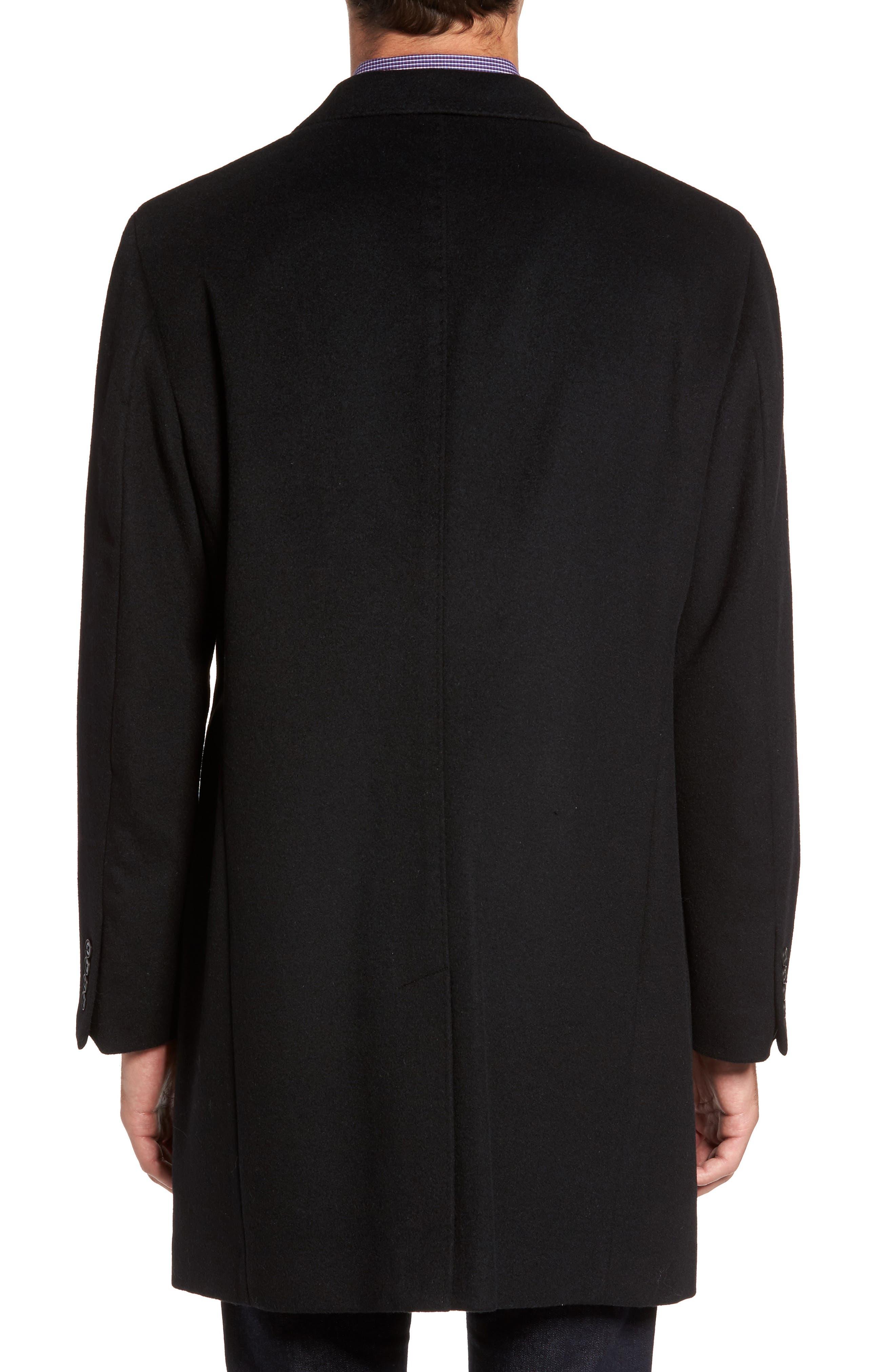 Mason Wool & Cashmere Overcoat,                             Alternate thumbnail 2, color,                             001