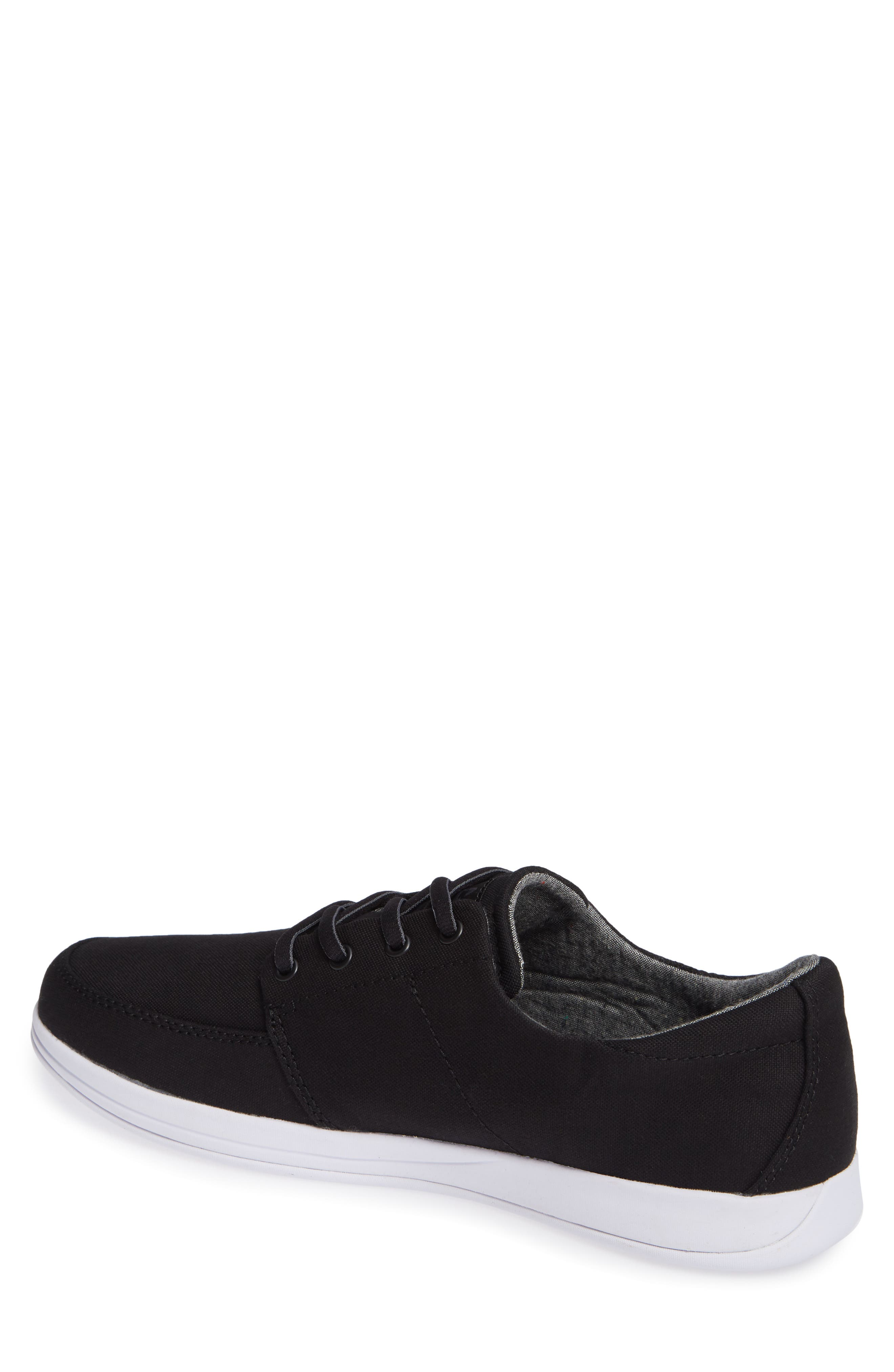 Cuater by Travis Mathew  Quincy Sneaker,                             Alternate thumbnail 2, color,                             BLACK