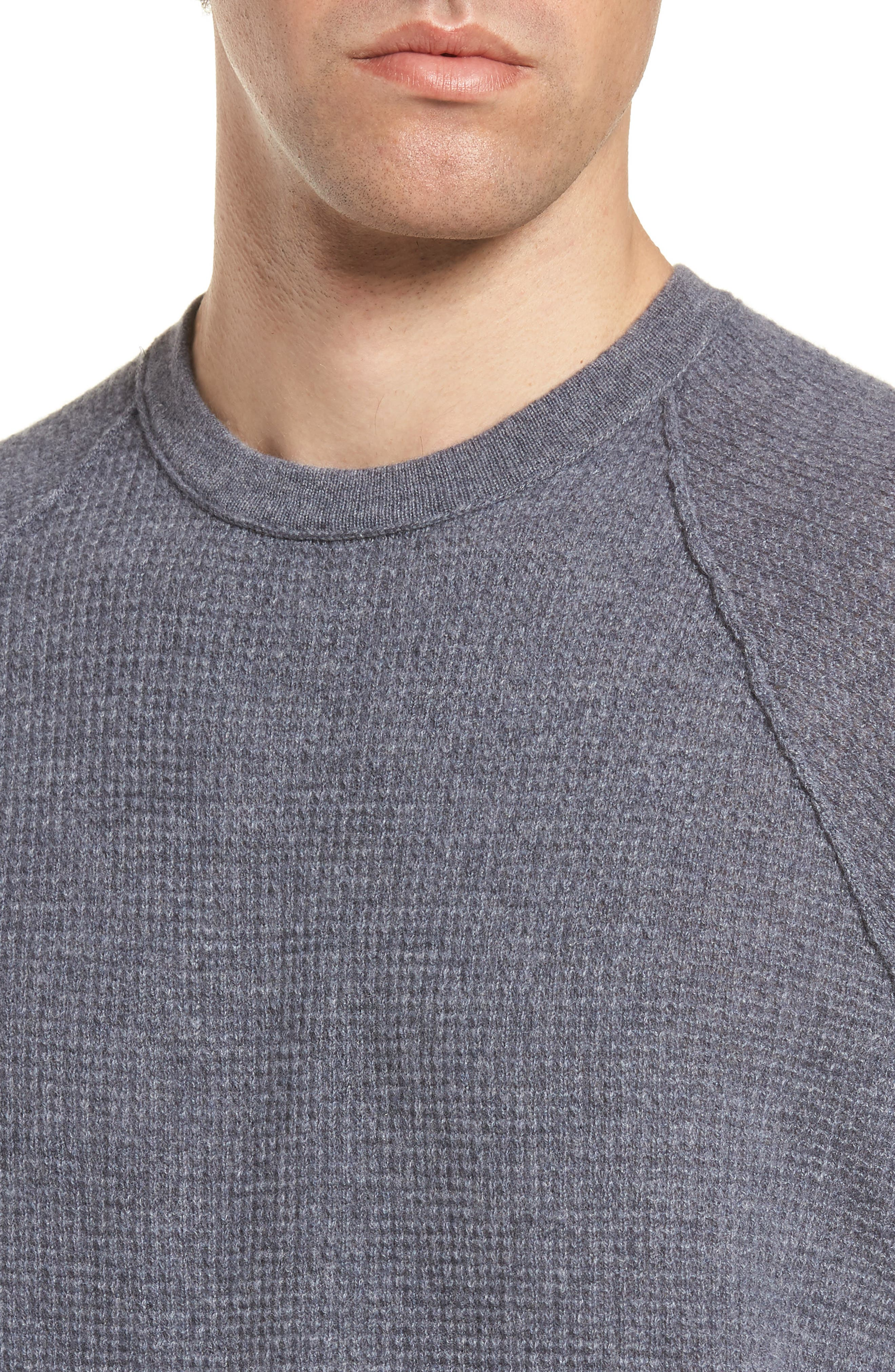 Thermal Cashmere Sweater,                             Alternate thumbnail 4, color,                             077