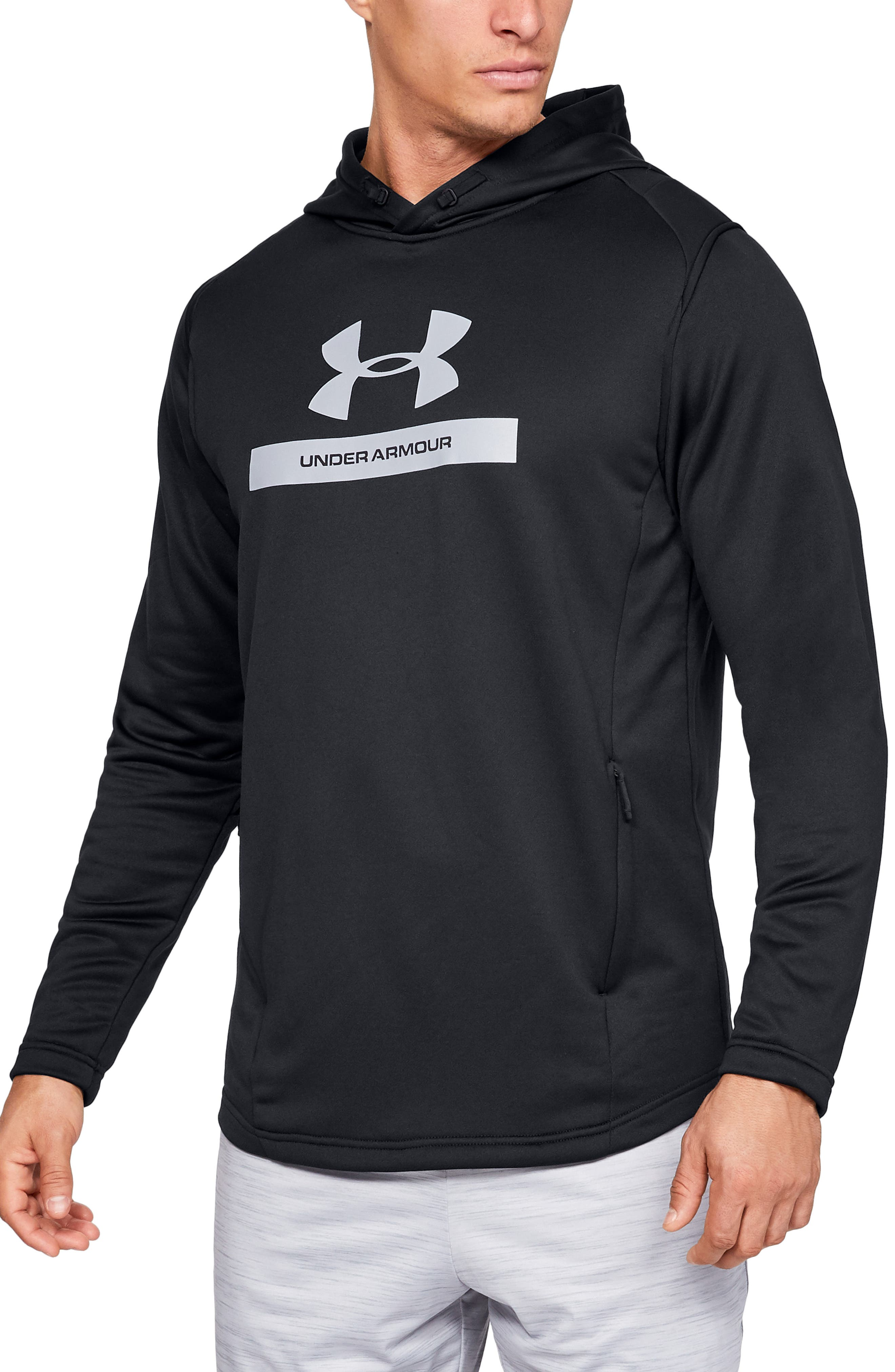 Under Armour Mk1 French Terry Hoodie, Black