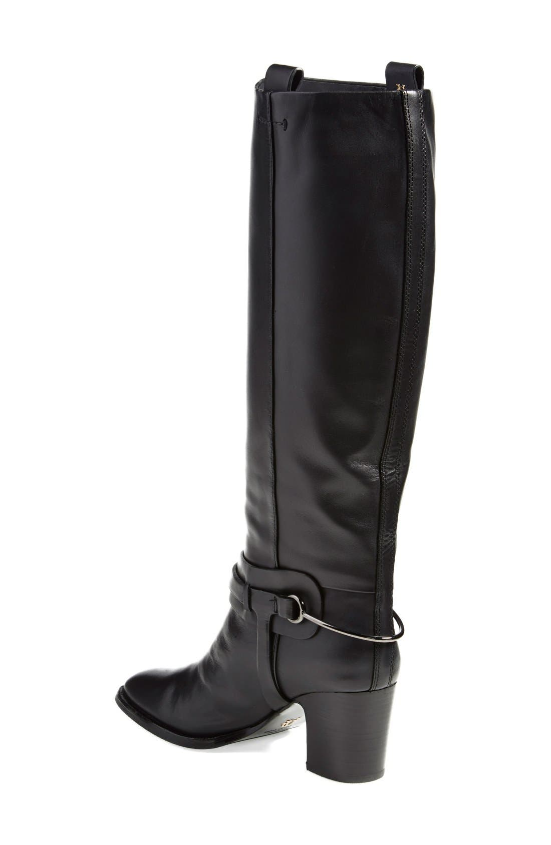 VC SIGNATURE,                             'Tazmin' Knee High Boot,                             Alternate thumbnail 3, color,                             002
