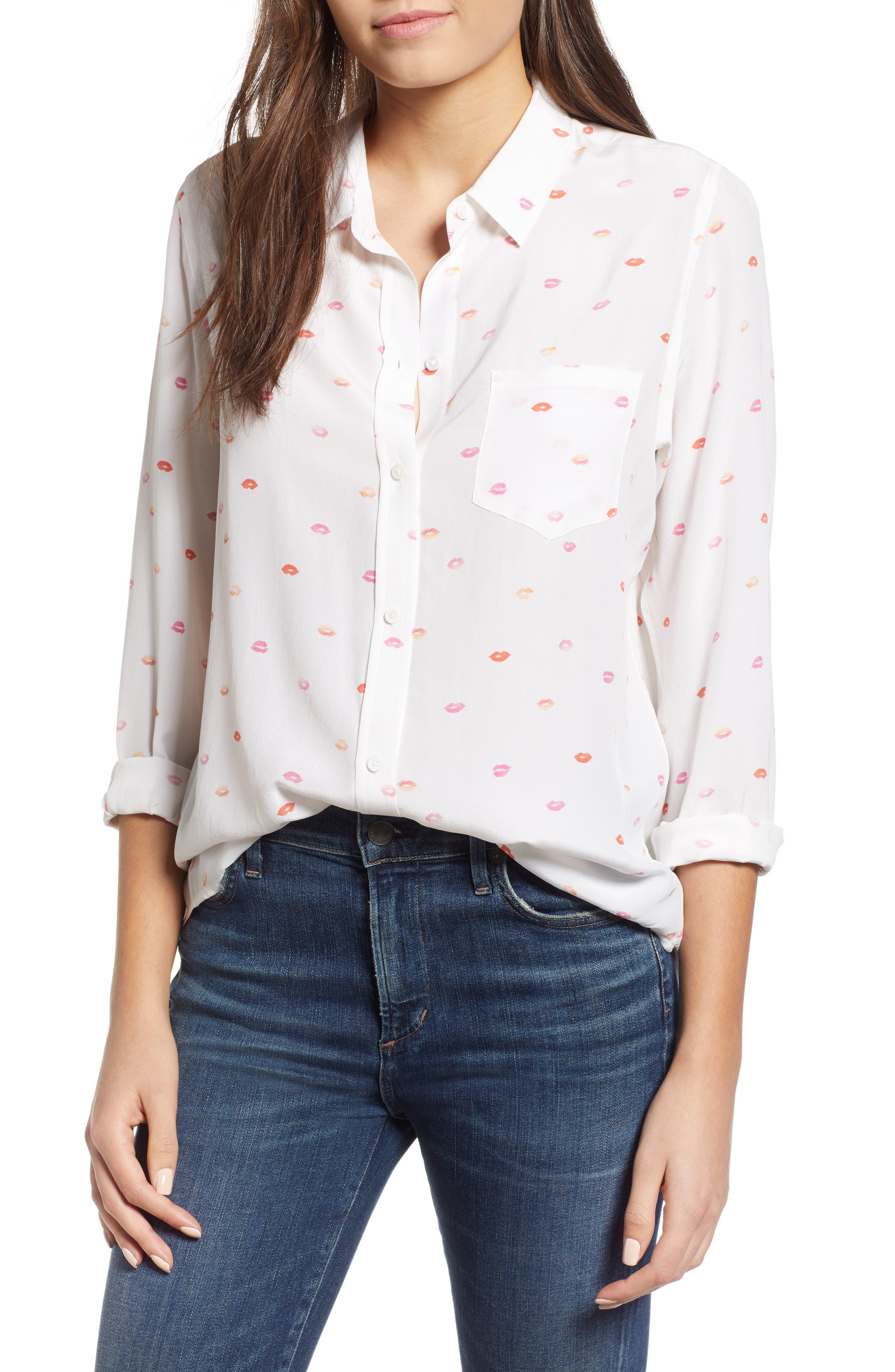 Kate Print Shirt,                             Main thumbnail 9, color,
