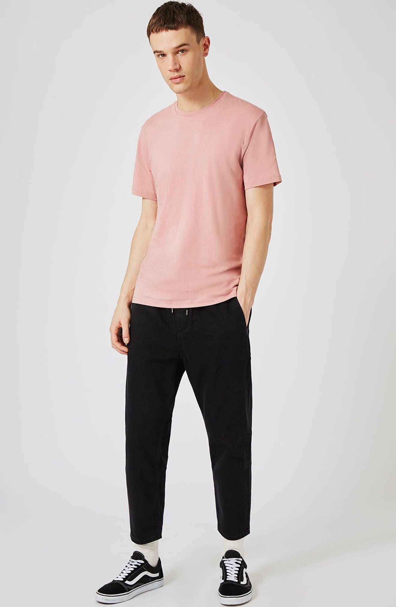 Slim Fit Crewneck T-Shirt,                             Alternate thumbnail 372, color,