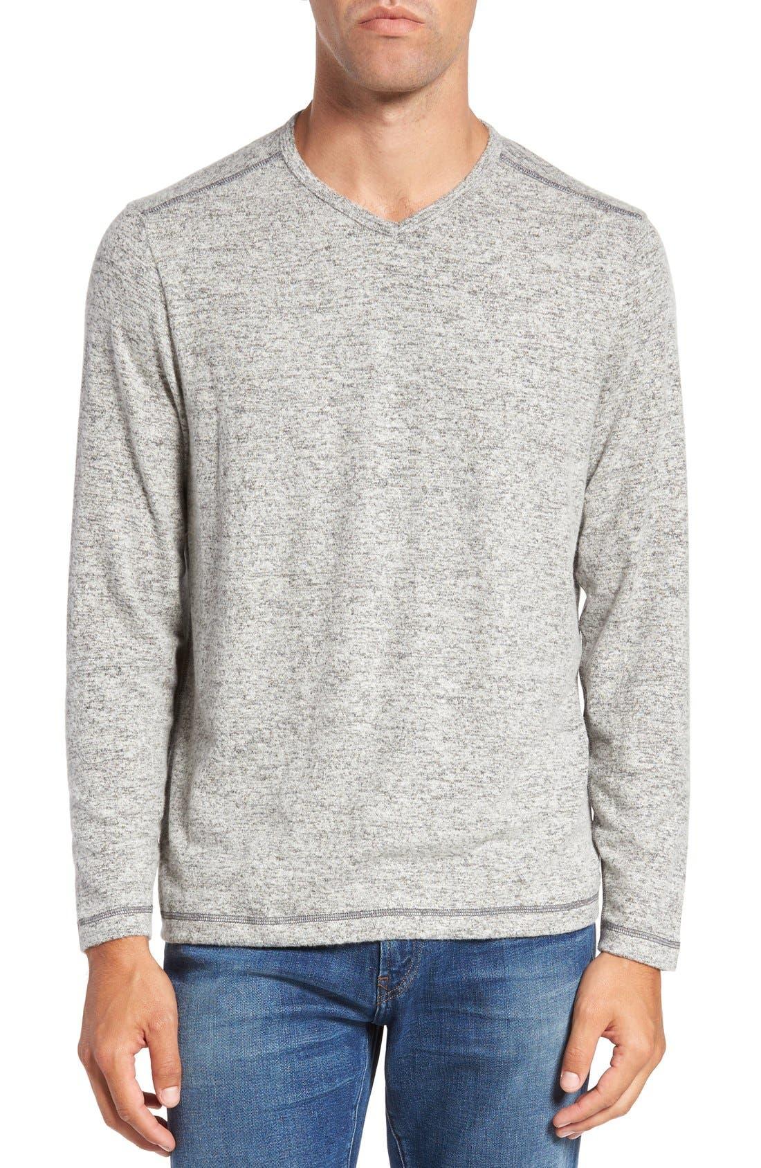 'Leeward' V-Neck Long Sleeve T-Shirt,                             Main thumbnail 1, color,                             050