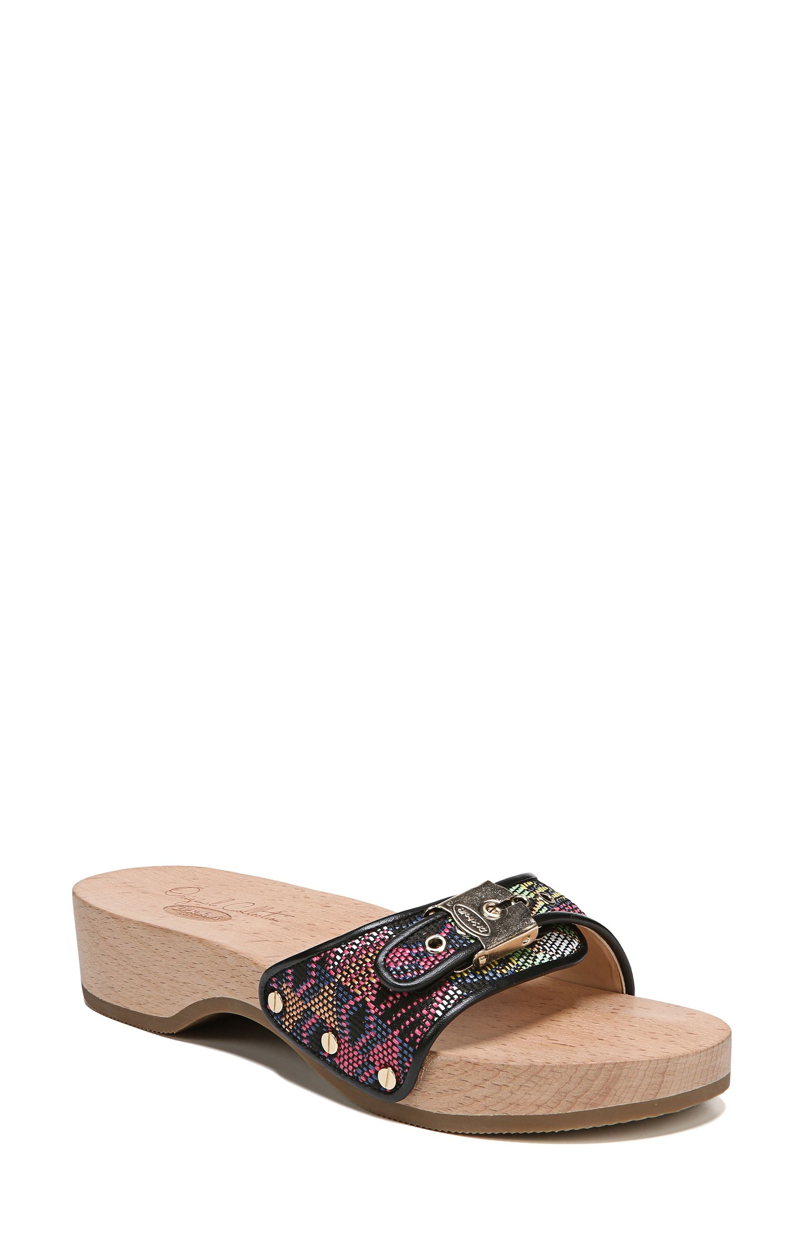 Original Collection 'Original Footbed' Sandal,                             Main thumbnail 1, color,                             001