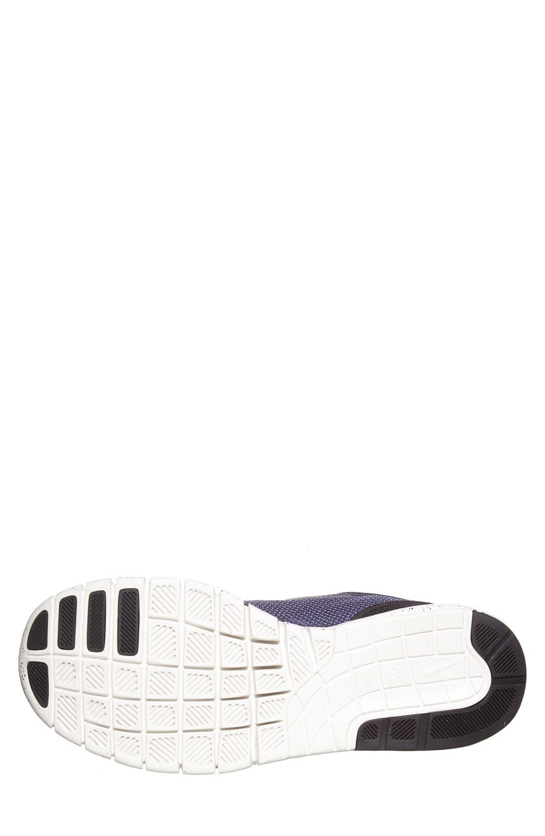 'Stefan Janoski - Max SB' Skate Shoe,                             Alternate thumbnail 9, color,                             BLACK/ PRO PURPLE/ WHITE