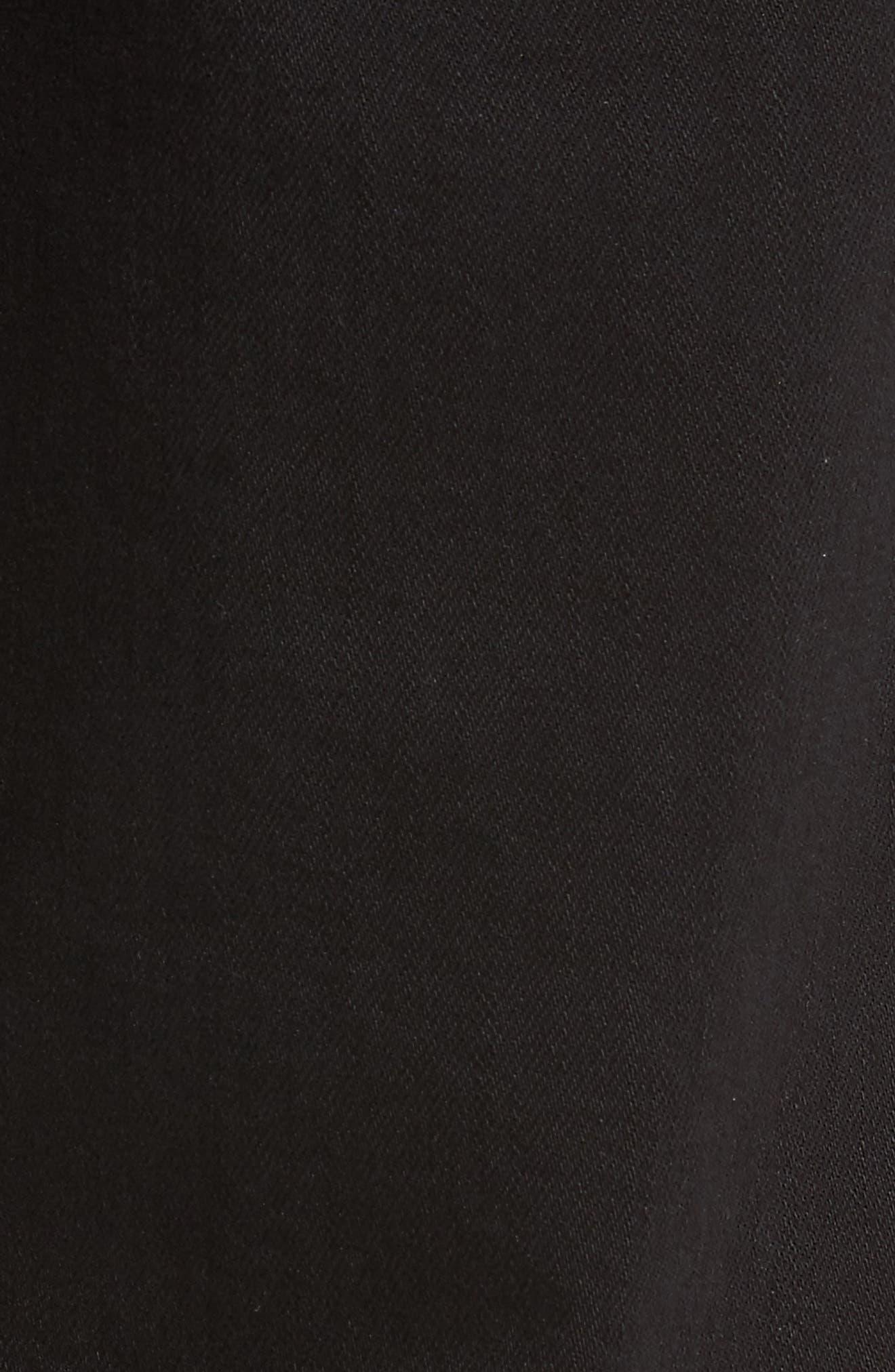 Luxe Performance - Slimmy Slim Fit Jeans,                             Alternate thumbnail 5, color,                             ANNEX BLACK