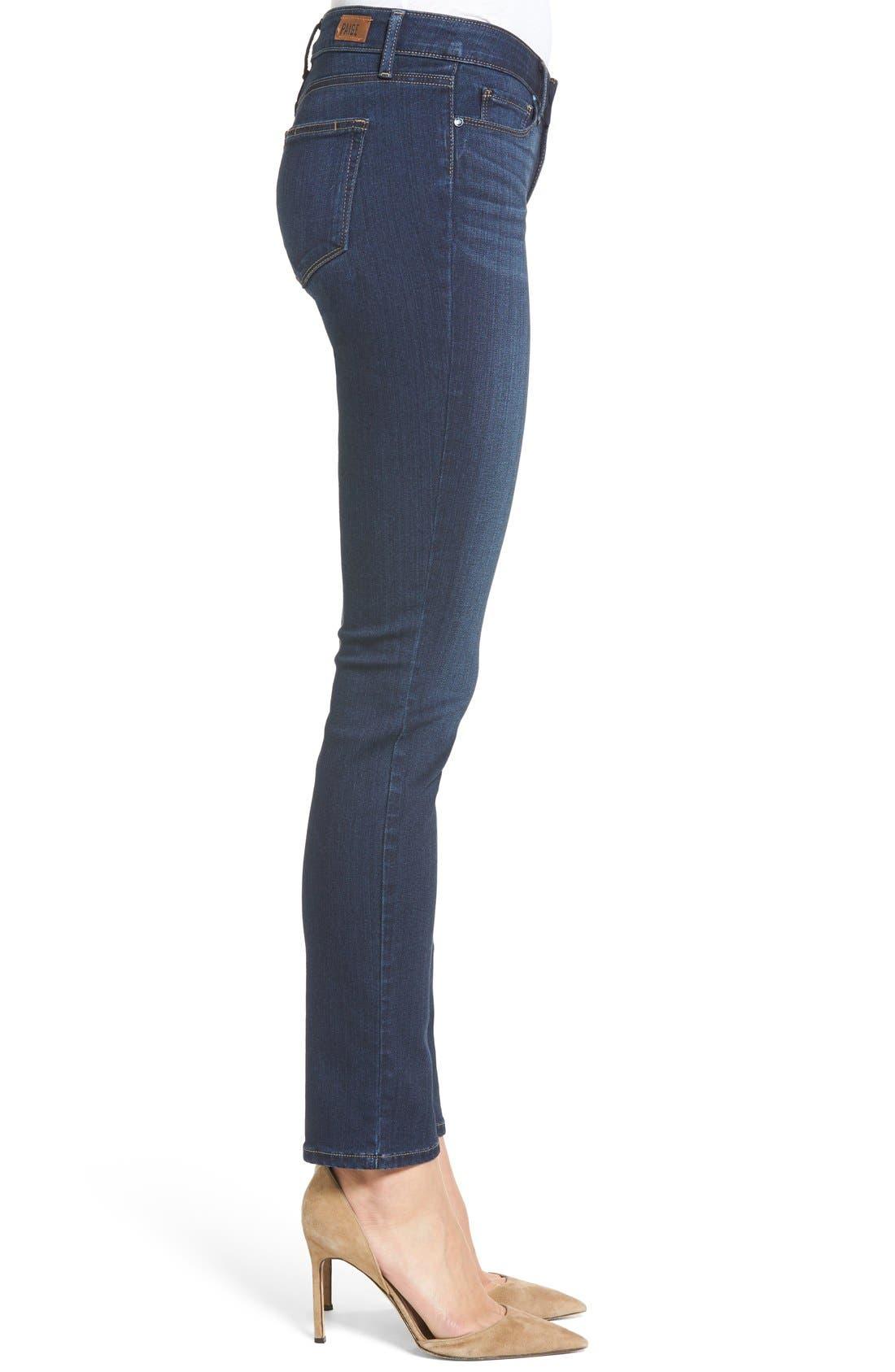 Transcend Skyline Skinny Jeans,                             Alternate thumbnail 5, color,                             400