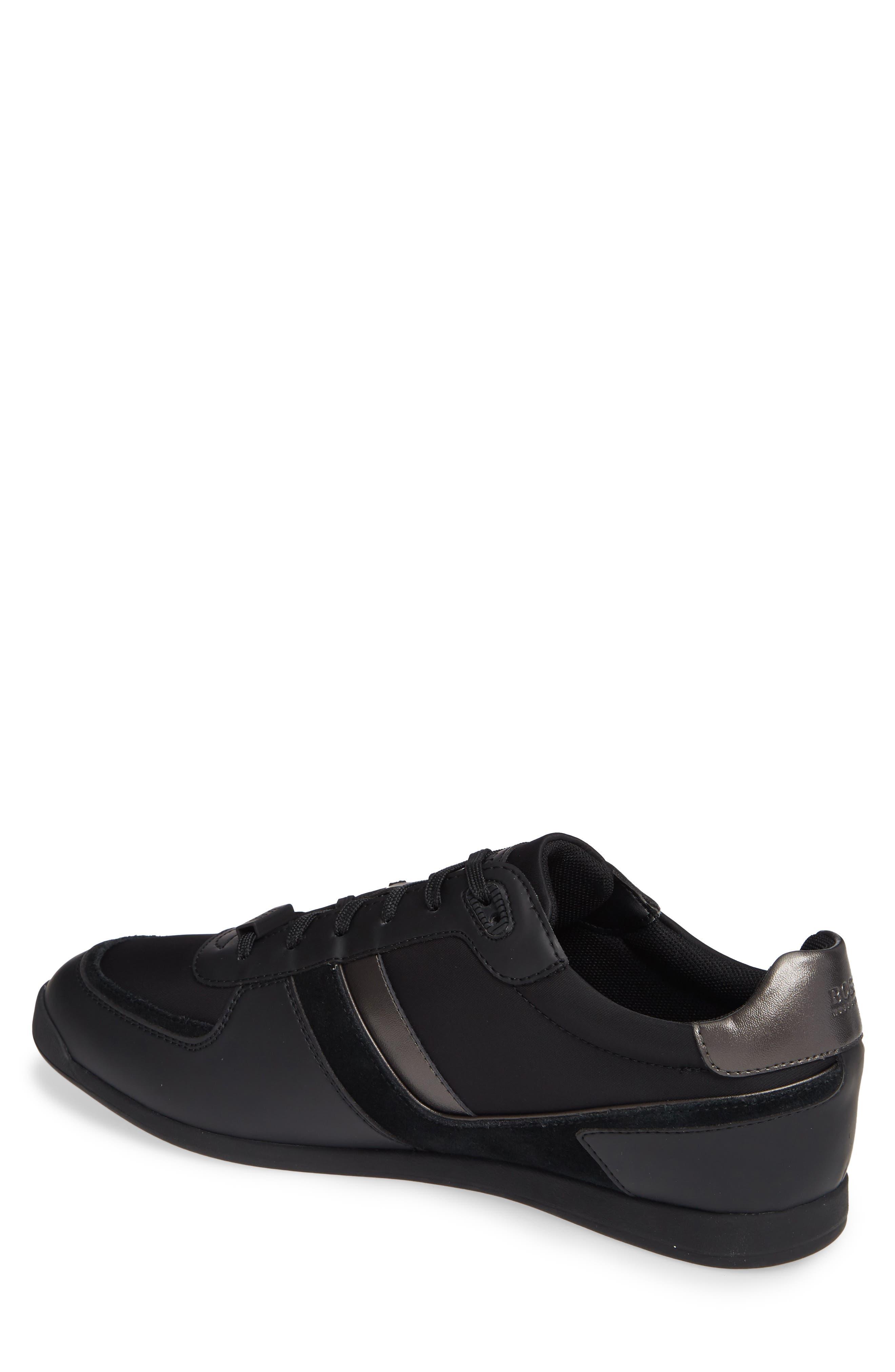 Maze Sneaker,                             Alternate thumbnail 2, color,                             BLACK