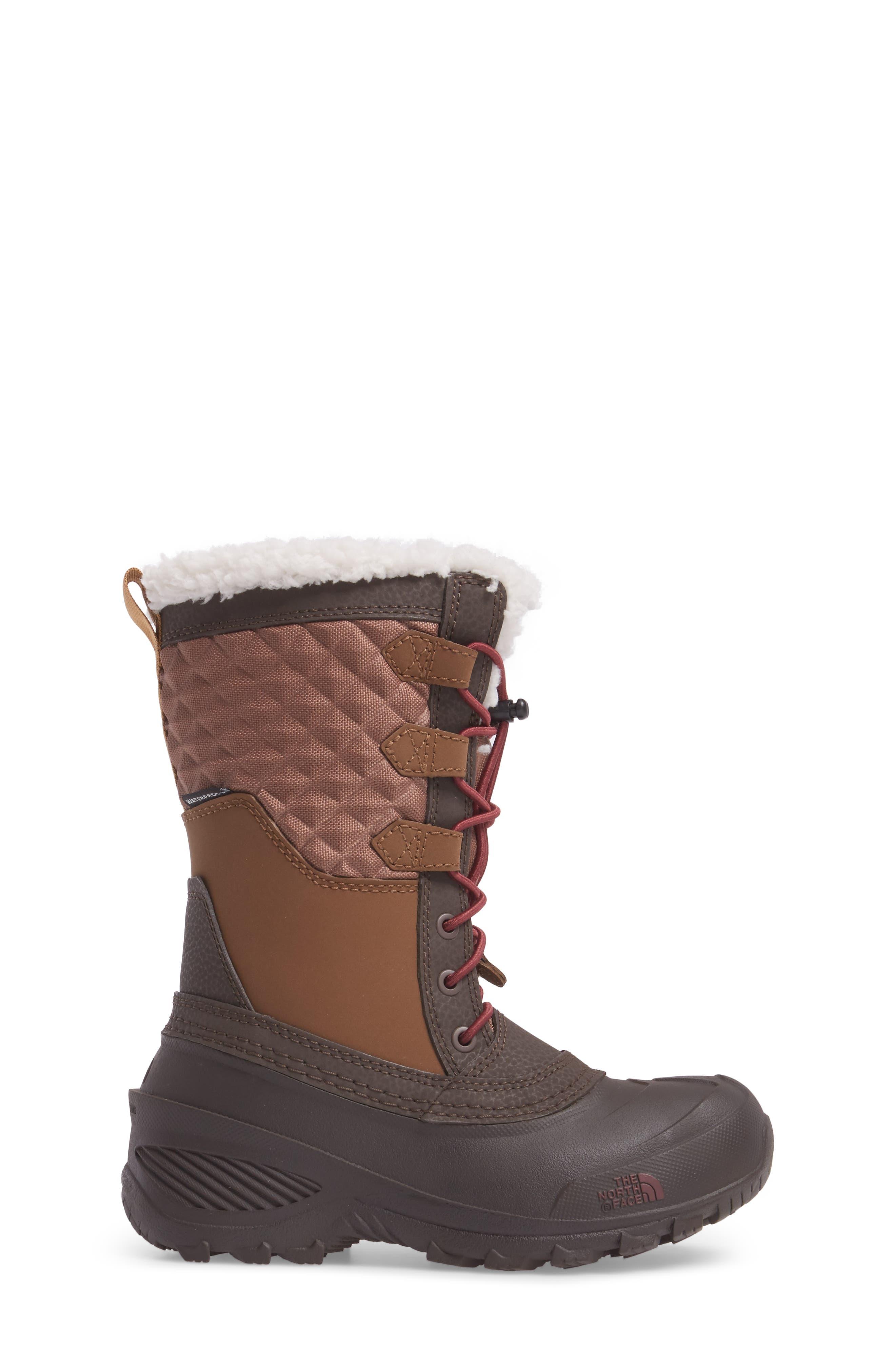 Shellista Lace III Faux Fur Waterproof Boot,                             Alternate thumbnail 8, color,