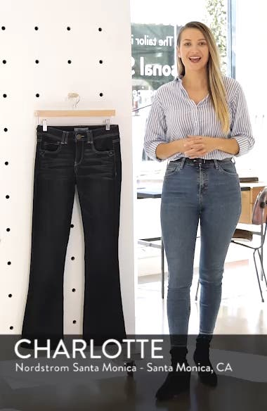 Ab-solution Itty Bitty Bootcut Jeans, sales video thumbnail