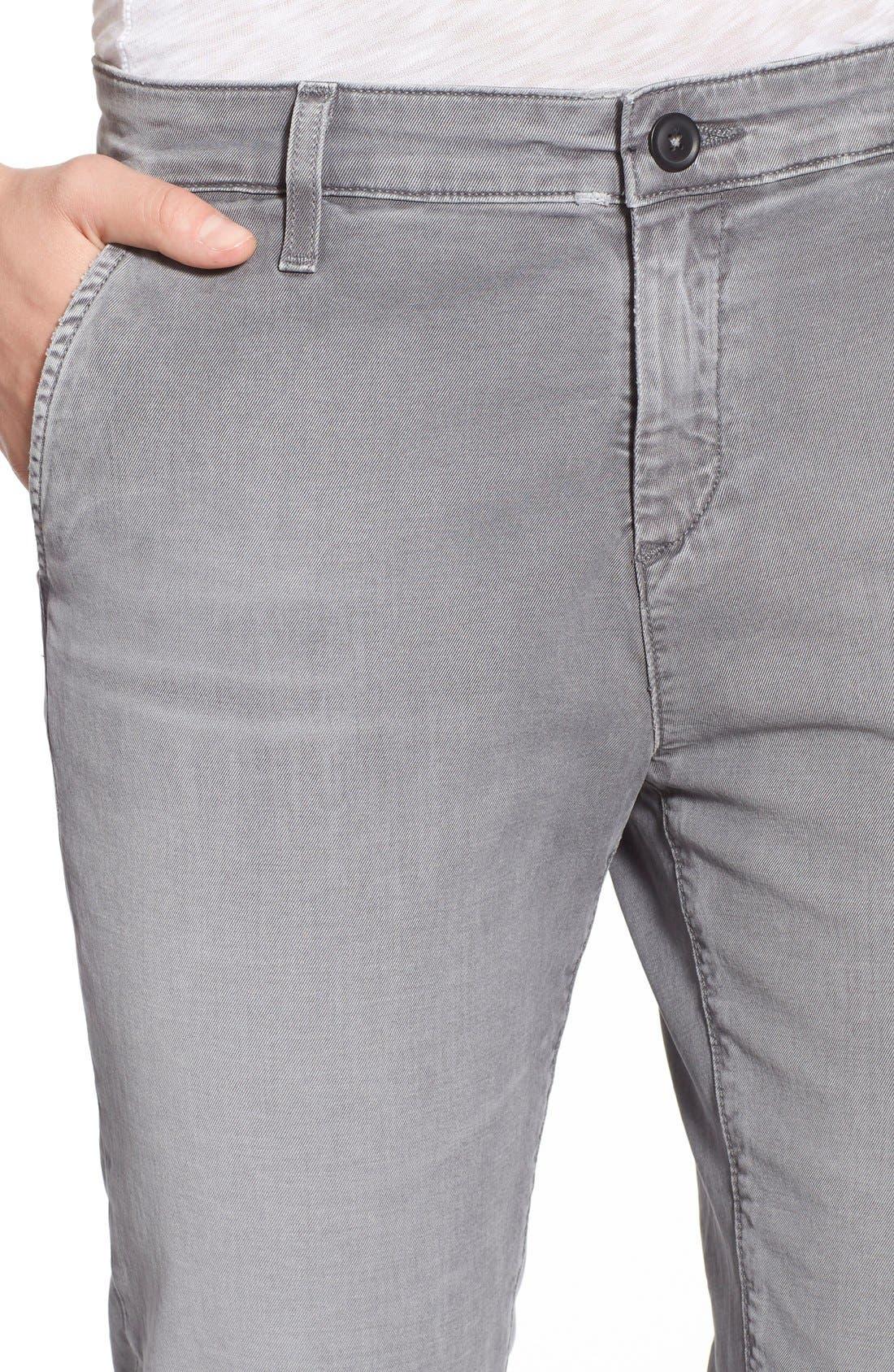 AG,                             'Caden' Crop Slim Jeans,                             Alternate thumbnail 5, color,                             020