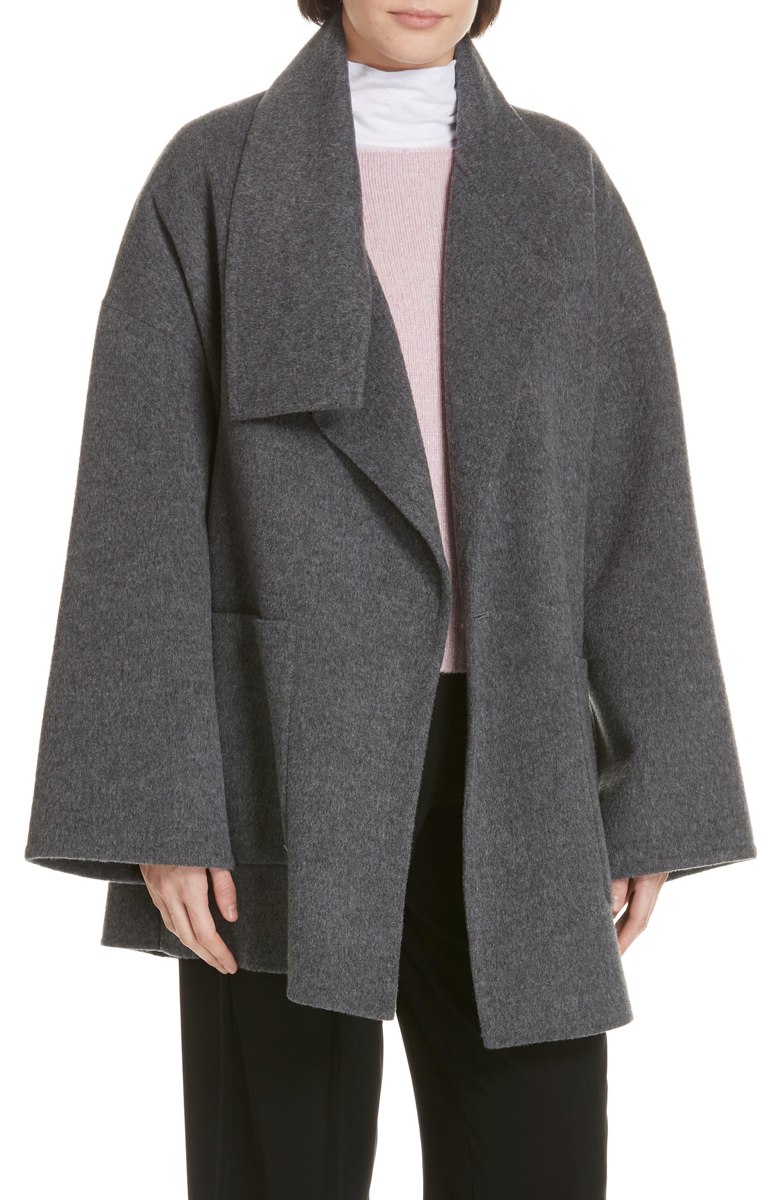 Blanket Coat, Main, color, H GREY