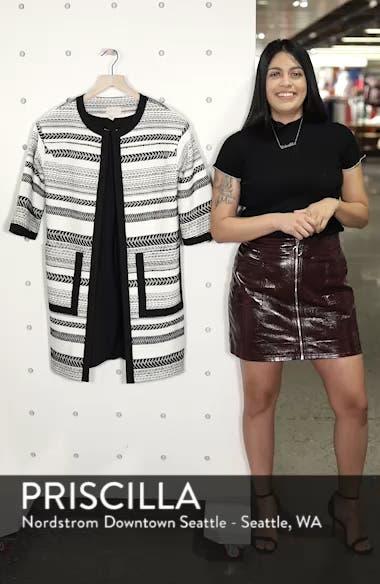 Patterned Cotton Blend Topper, sales video thumbnail