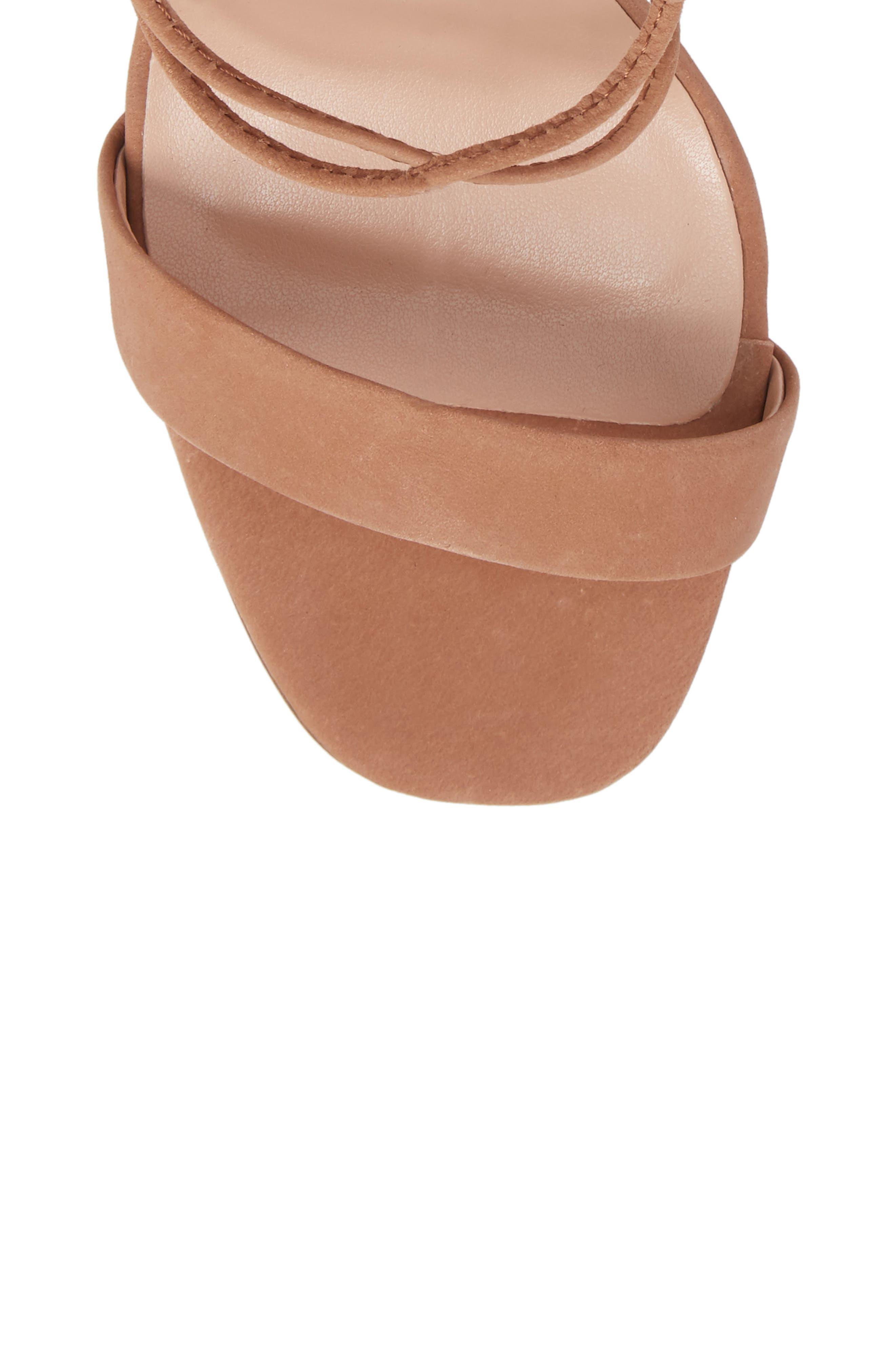 Dani Ghillie Flared Heel Sandal,                             Alternate thumbnail 10, color,