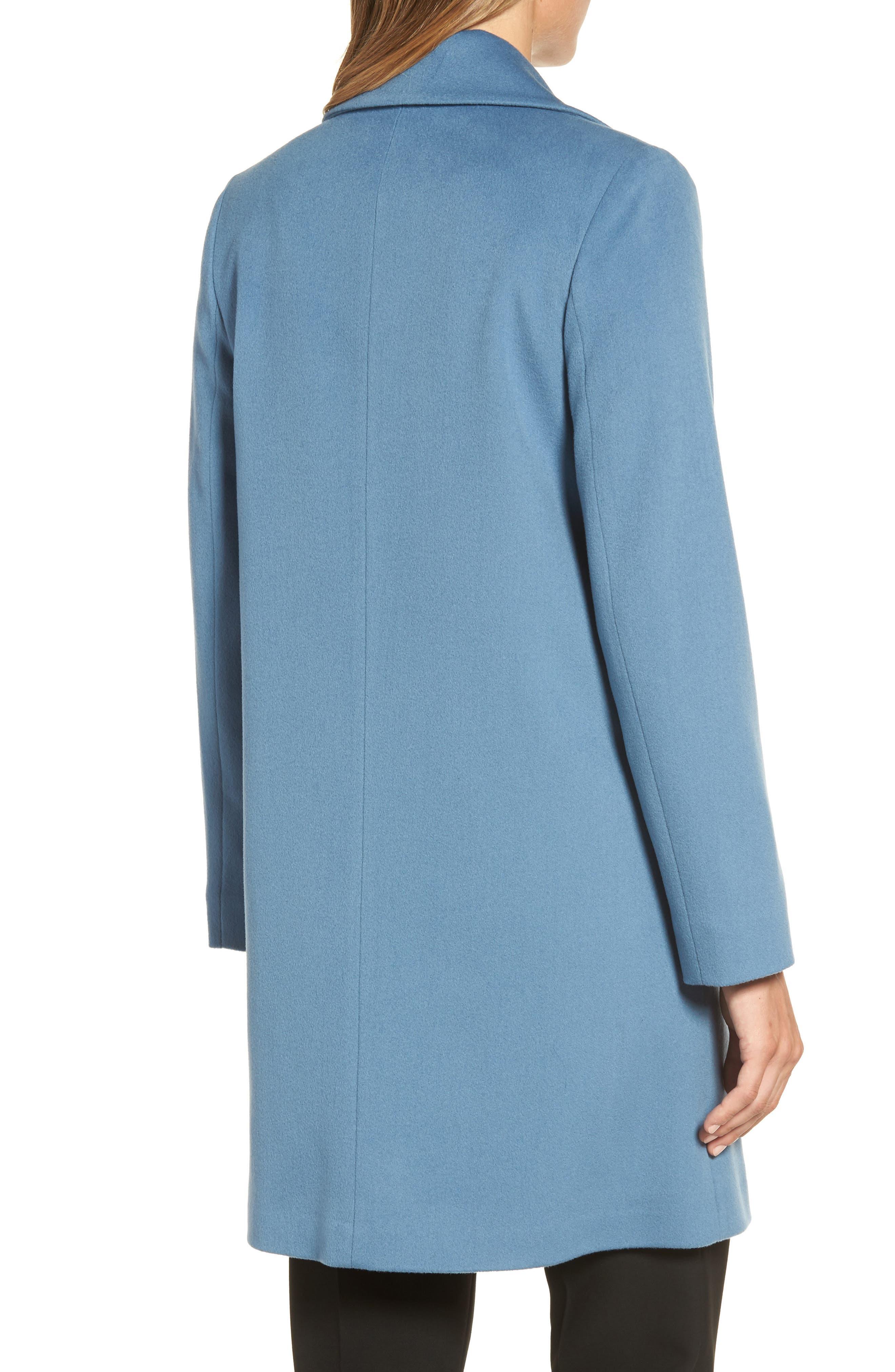 Single Button Wool Coat,                             Alternate thumbnail 2, color,                             425