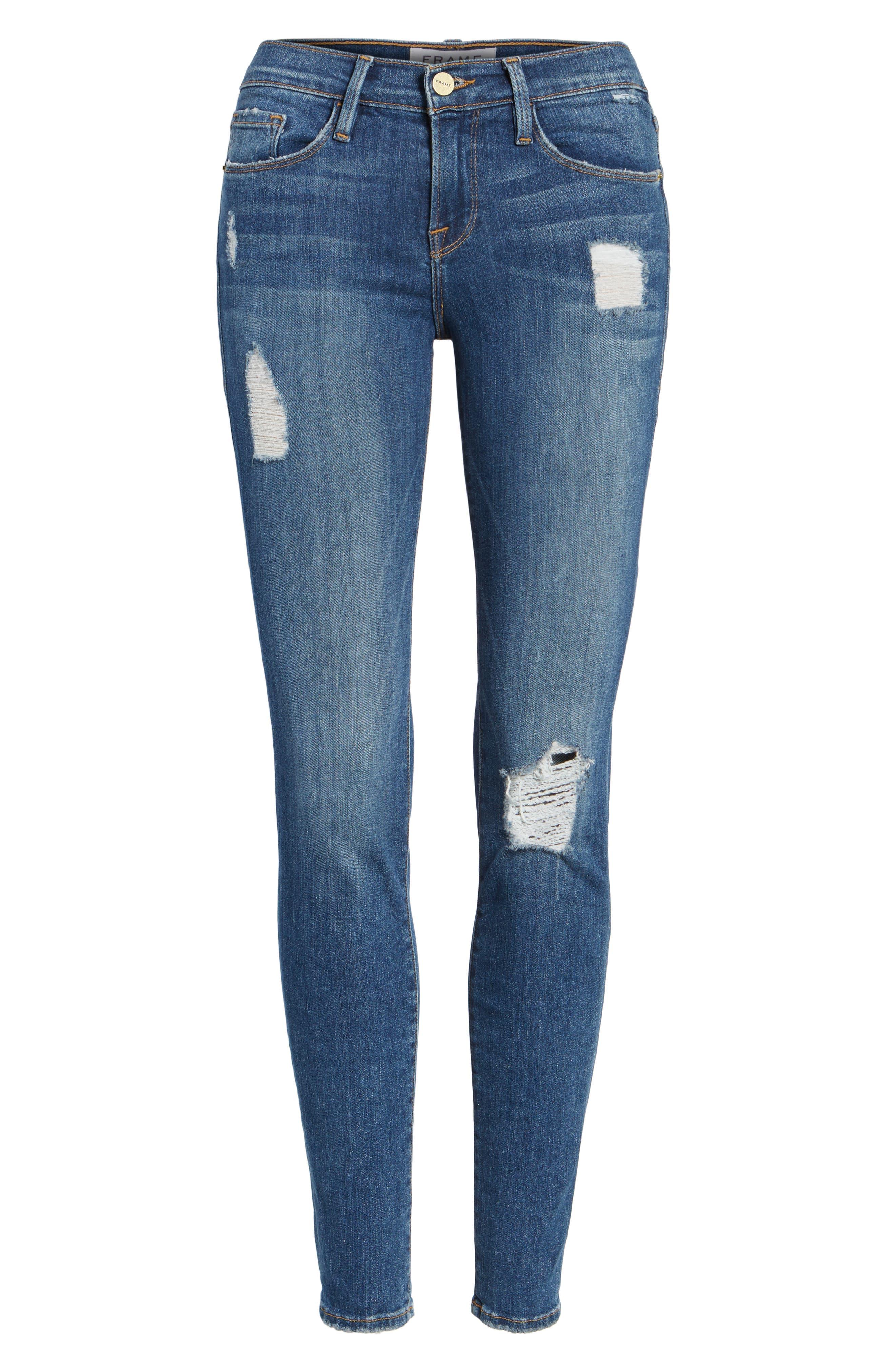 'Le Skinny de Jeanne' Jeans,                             Alternate thumbnail 2, color,                             HILLTOP