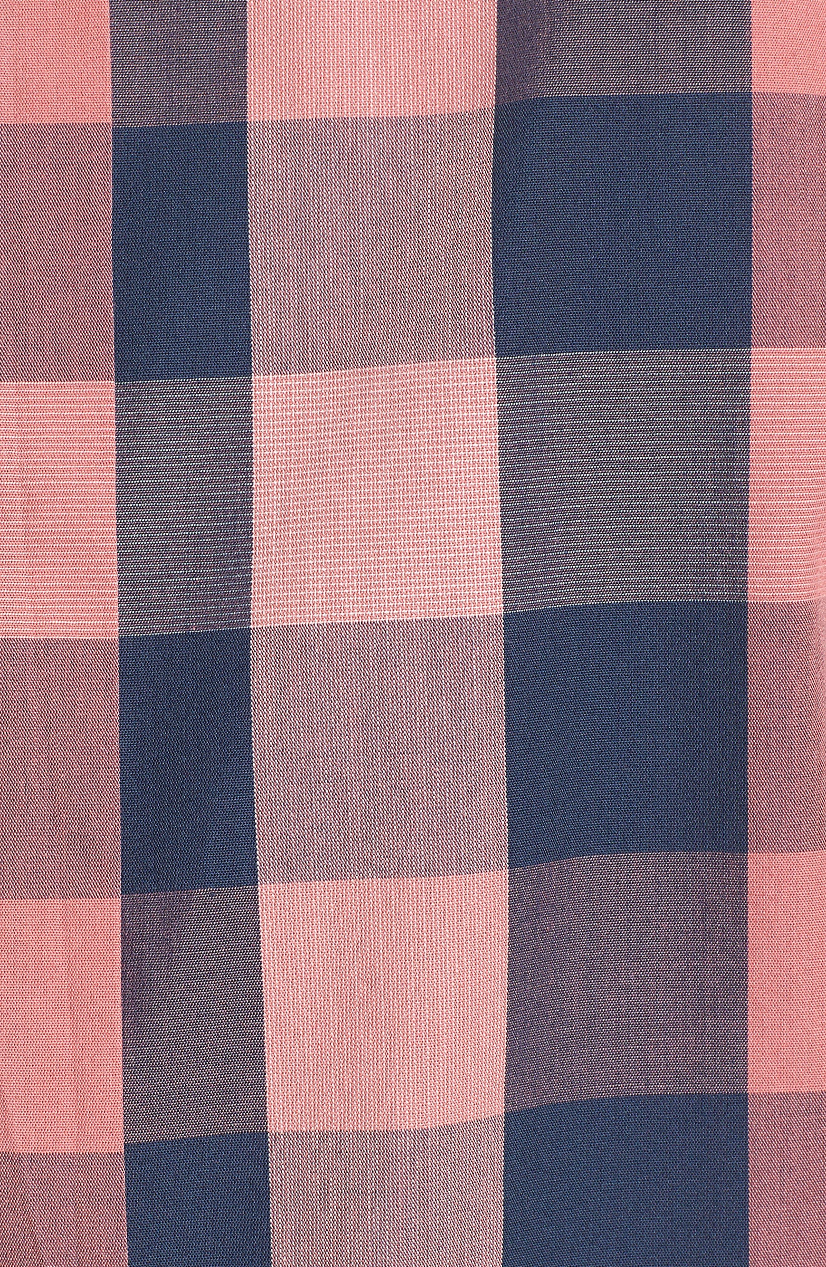 Buffalo Check Woven Shirt,                             Alternate thumbnail 5, color,