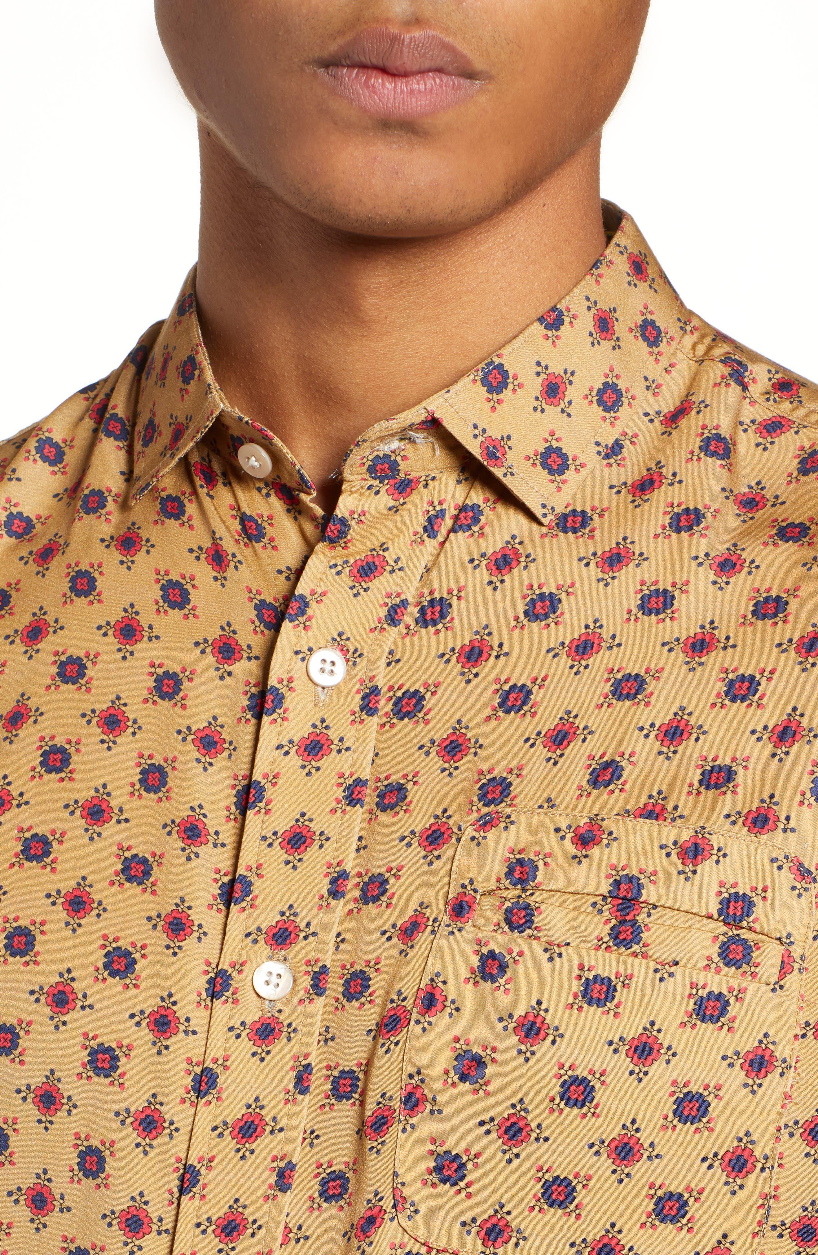 Nonna Wall Long Sleeve Woven Shirt,                             Alternate thumbnail 2, color,                             KHAKI