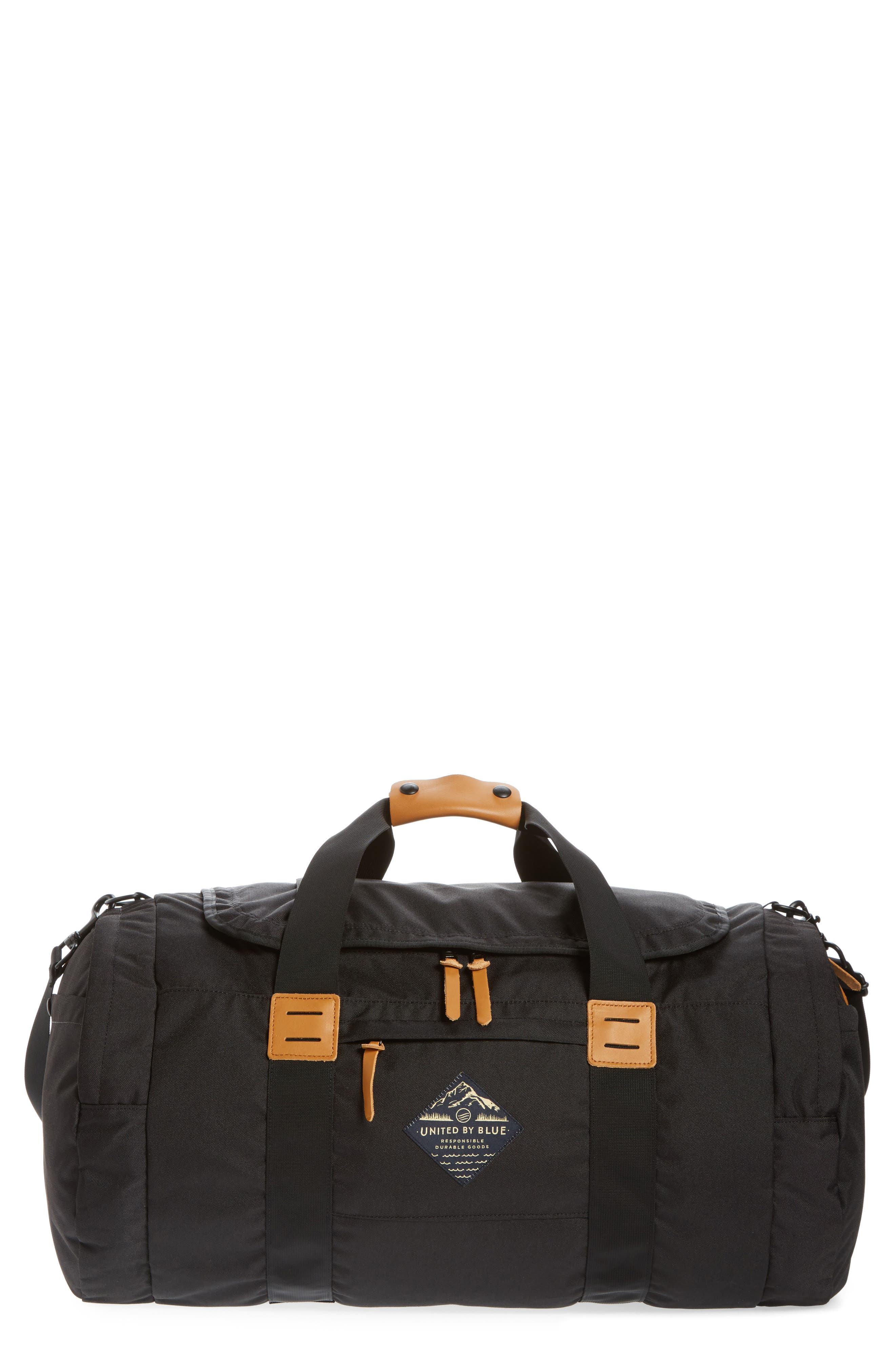 UNITED BY BLUE Arc Duffel Bag, Main, color, 001