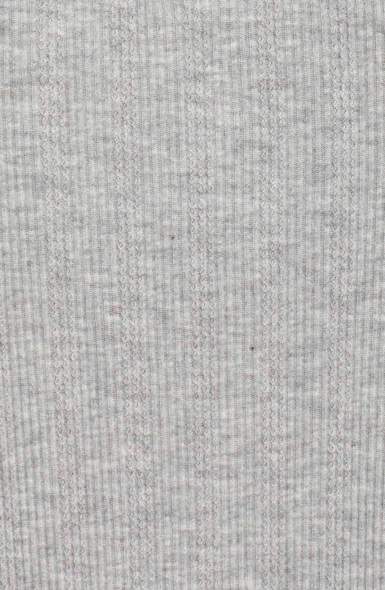 Lace Neck Sleep Shirt,                             Alternate thumbnail 5, color,                             022