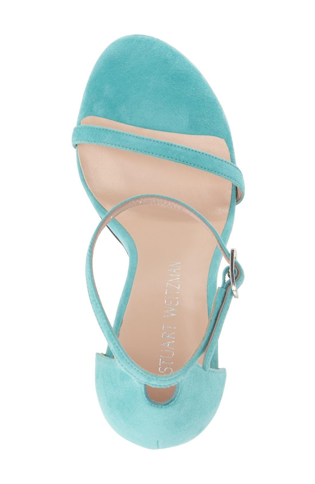 Nudistsong Ankle Strap Sandal,                             Alternate thumbnail 156, color,