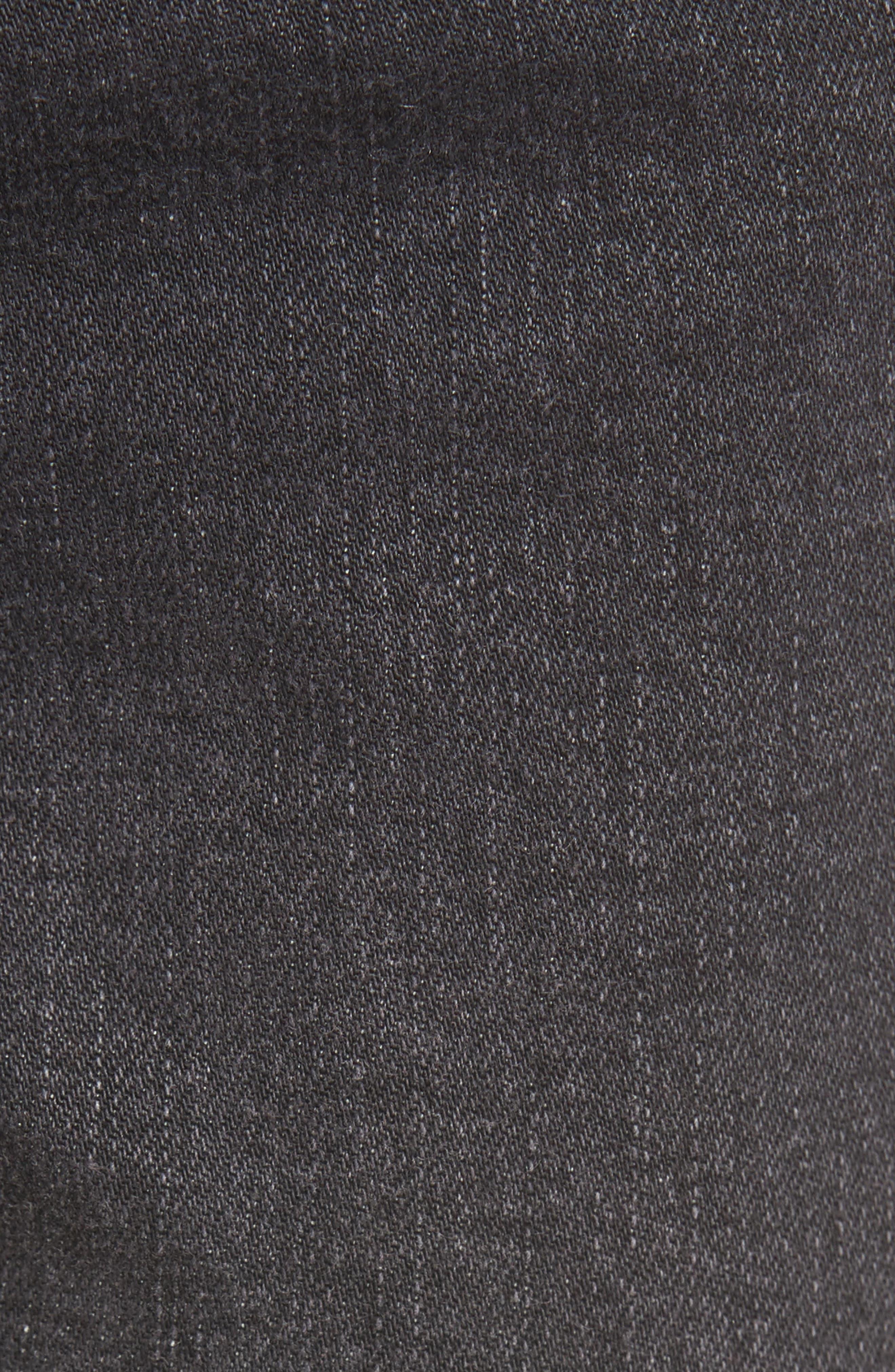 Hermosa Fray Hem Ankle Skinny Jeans,                             Alternate thumbnail 5, color,                             001