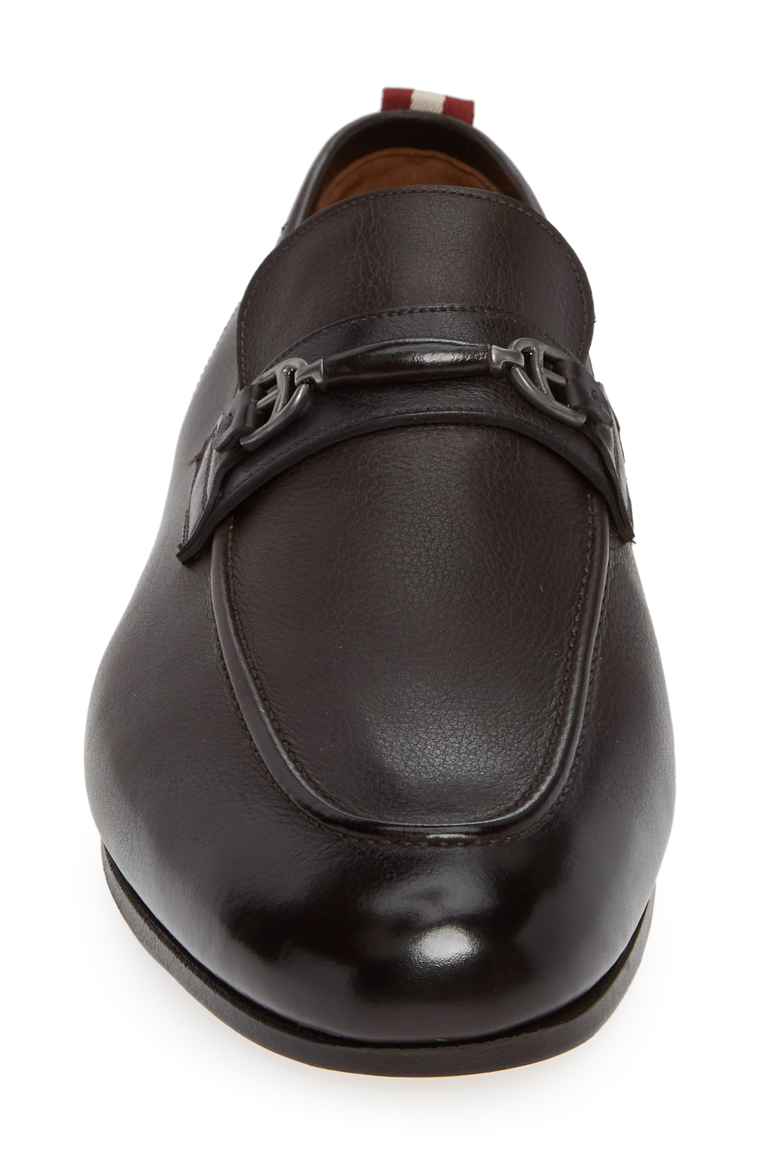 Plintor Loafer,                             Alternate thumbnail 4, color,                             COFFEE BROWN