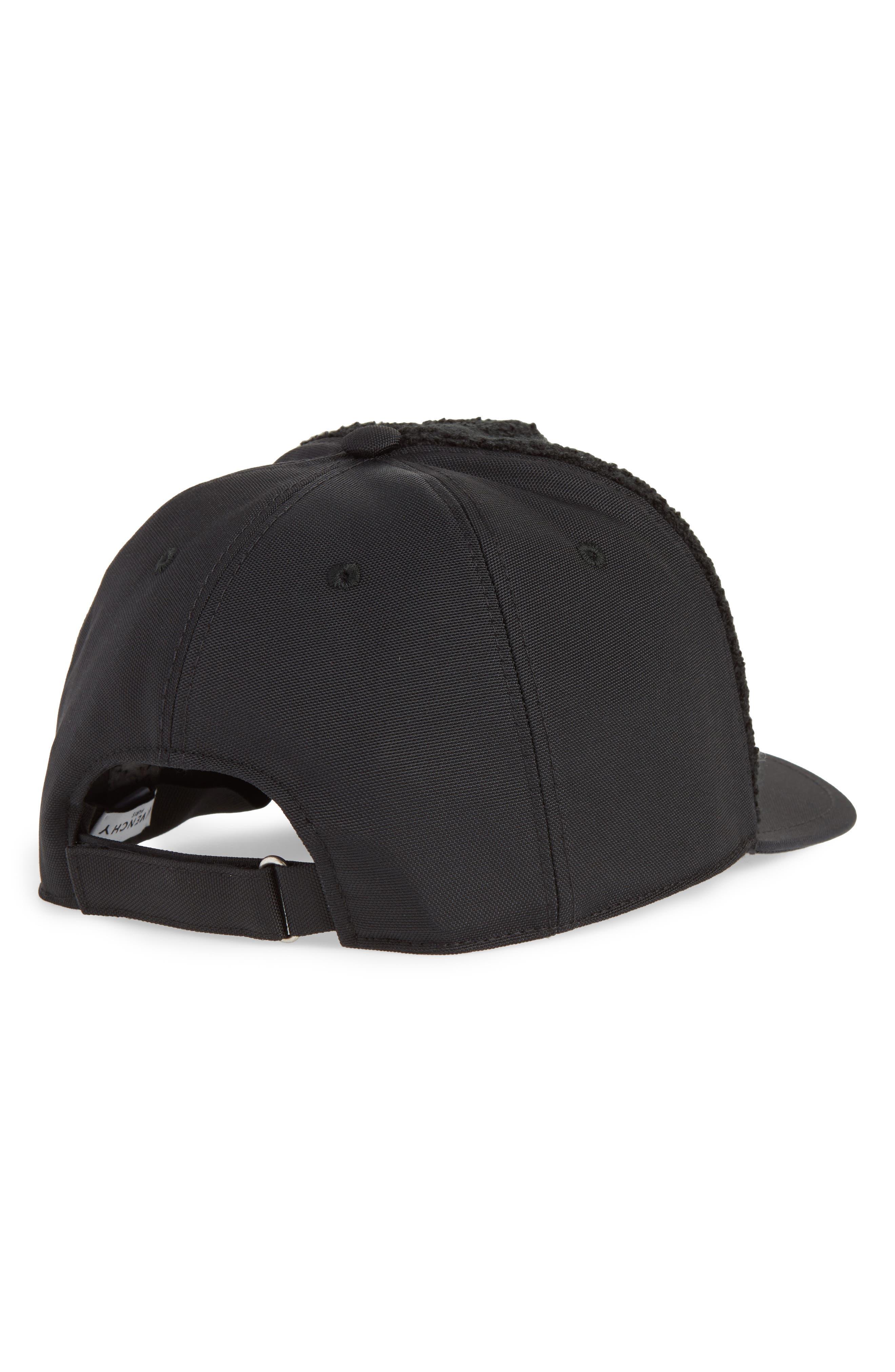 Curved Peak Logo Ball Cap,                             Alternate thumbnail 2, color,                             BLACK