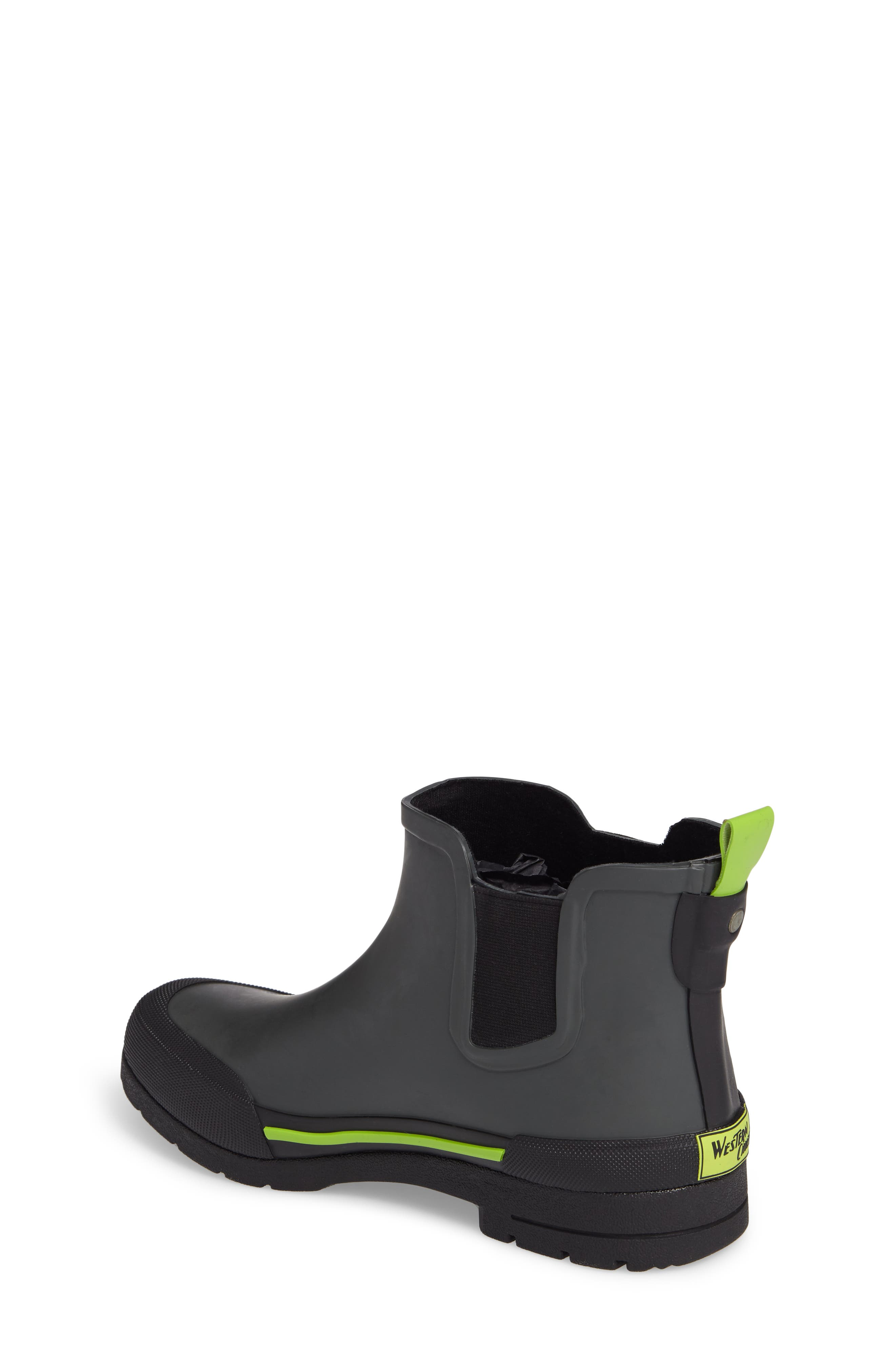 Classic Twin Gore Waterproof Rain Boot,                             Alternate thumbnail 2, color,                             CHARCOAL