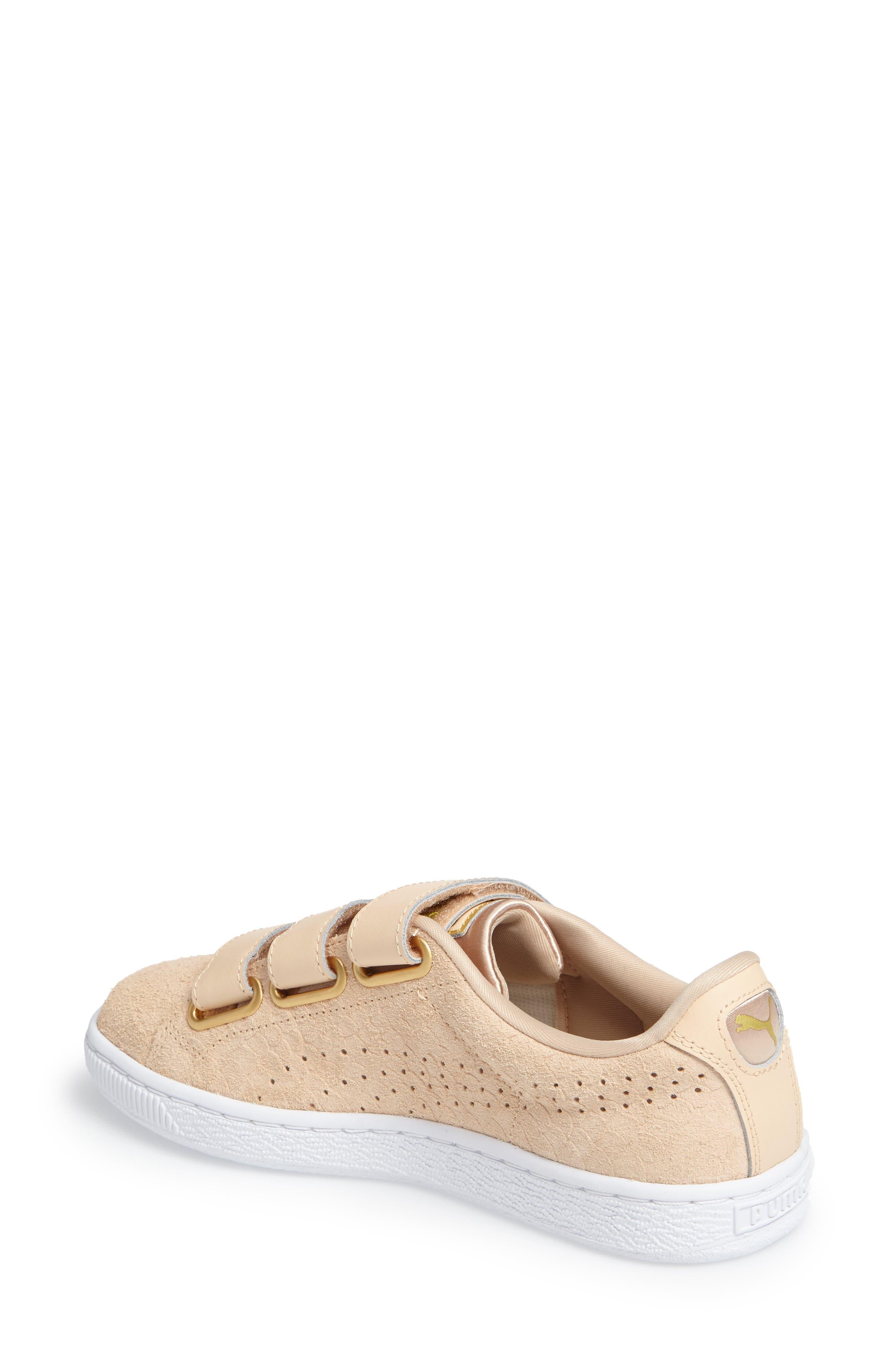 Basket Strap ExoticSkin Sneaker,                             Alternate thumbnail 7, color,