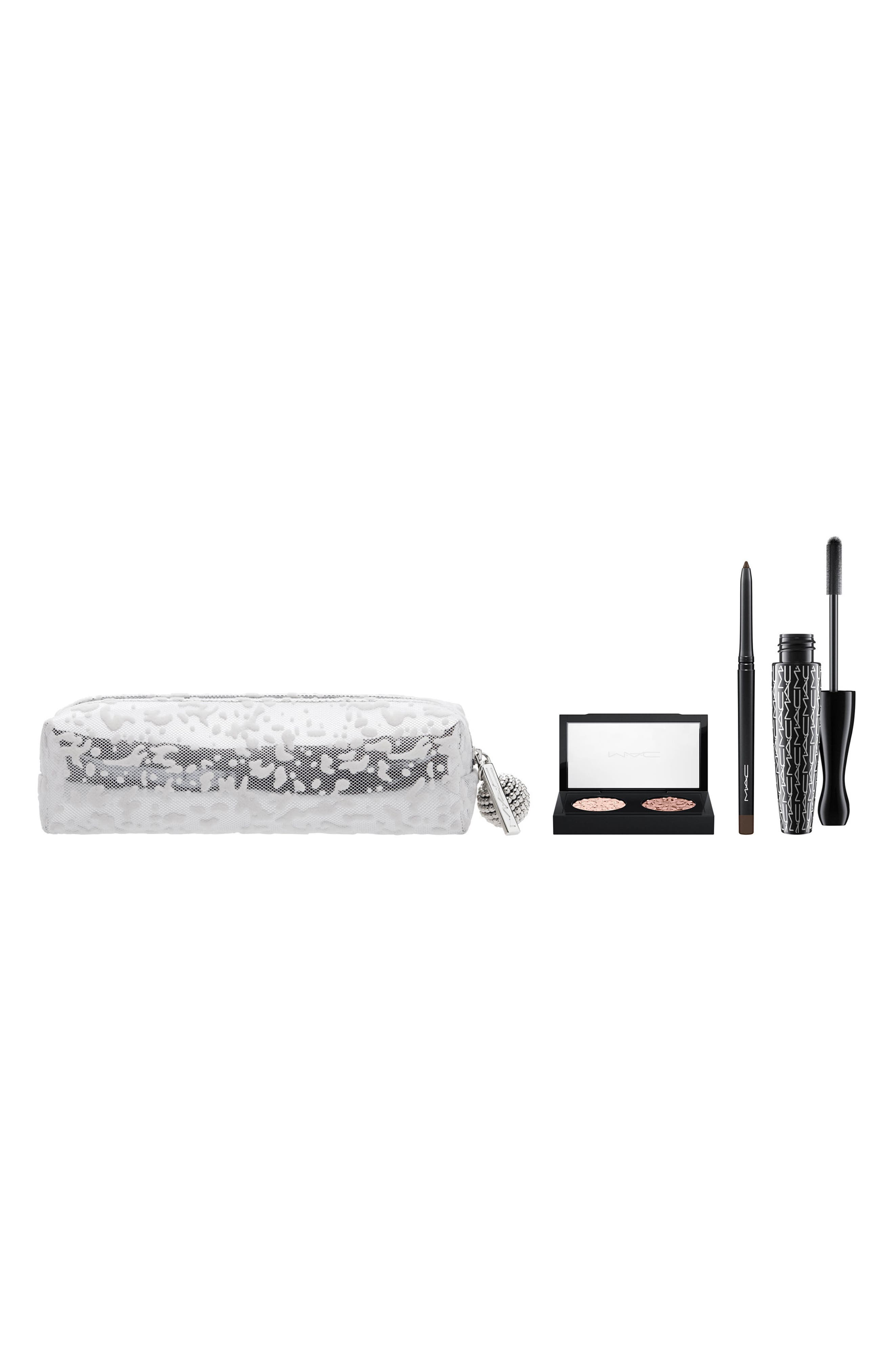 MAC Snow Ball Smoky Gold Eye Bag,                             Main thumbnail 1, color,                             000