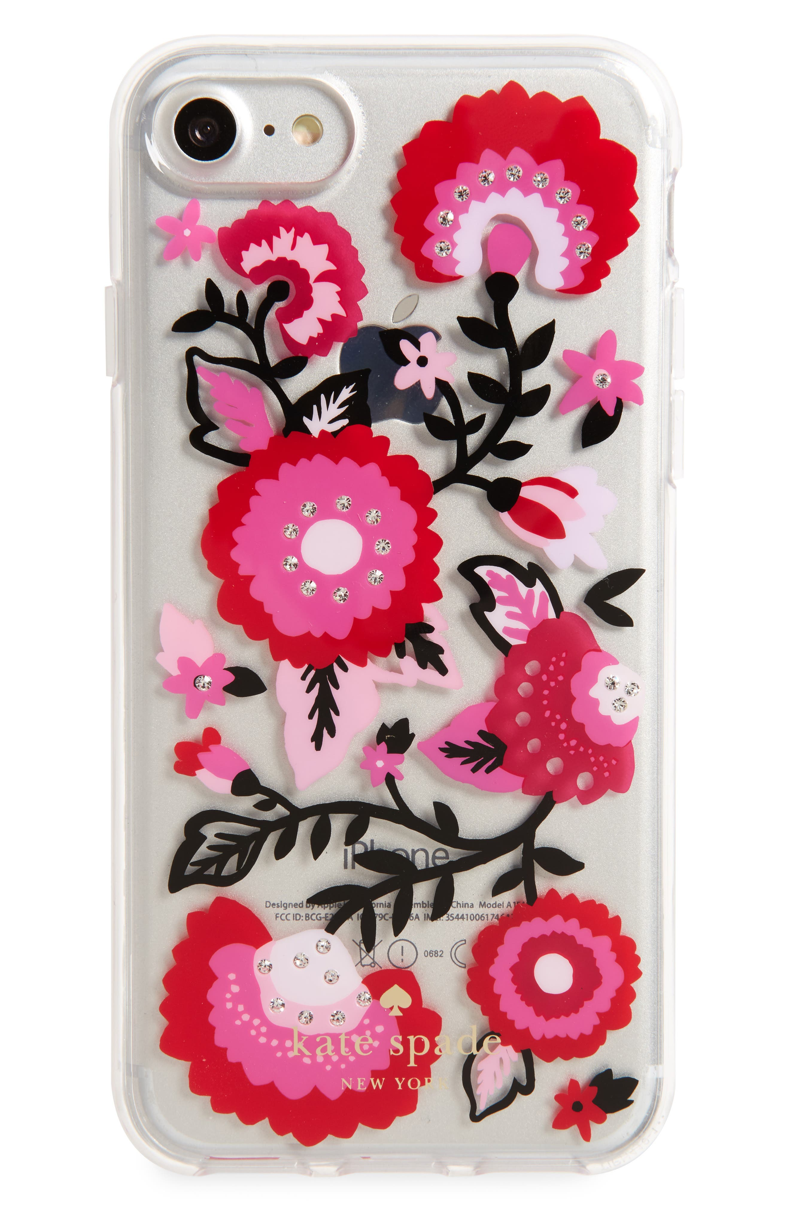 jeweled garland iPhone 7/8 & 7/8 Plus case,                             Main thumbnail 1, color,                             900