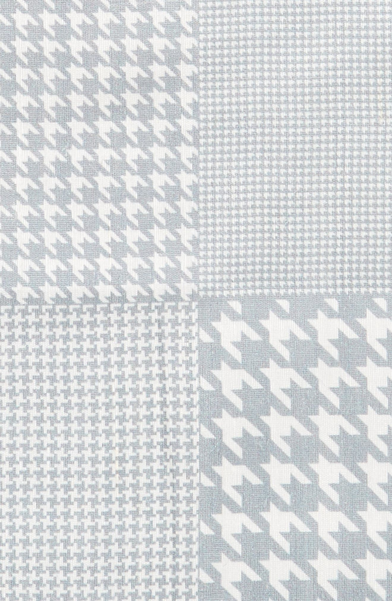 Houndstooth Pocket Square,                             Alternate thumbnail 3, color,                             039