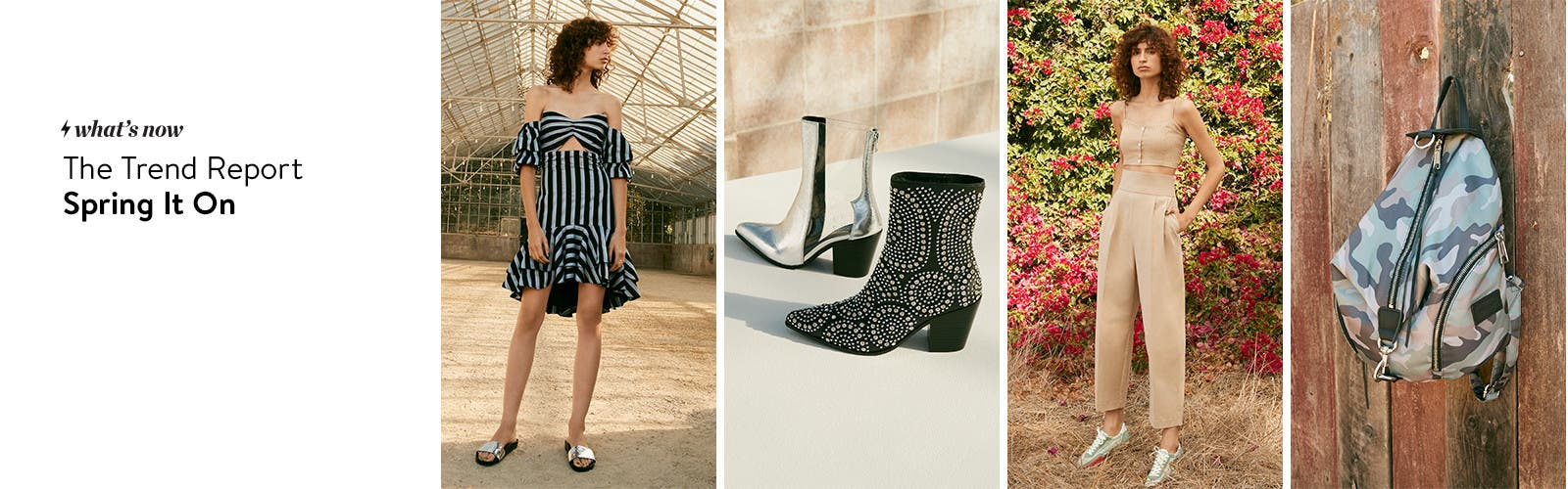 The trend report: spring it on.