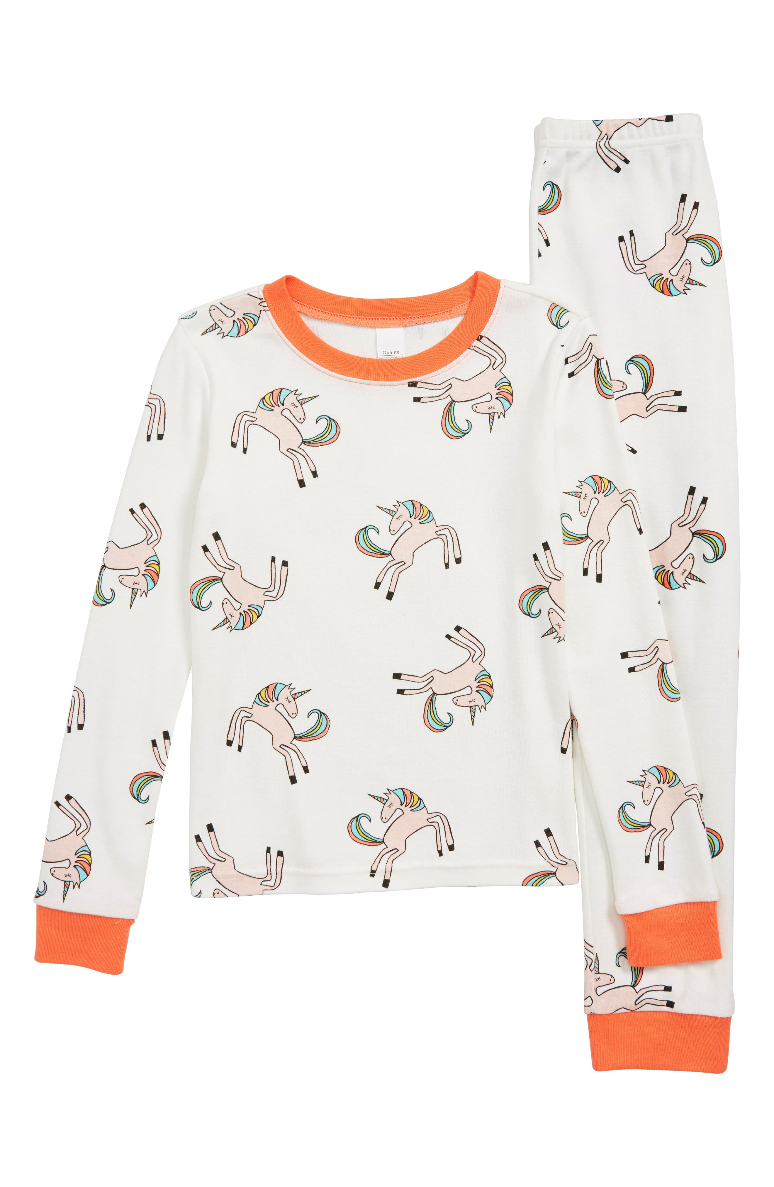 Toddler Girls Tucker  Tate Fitted TwoPiece Pajamas Size 3T  None