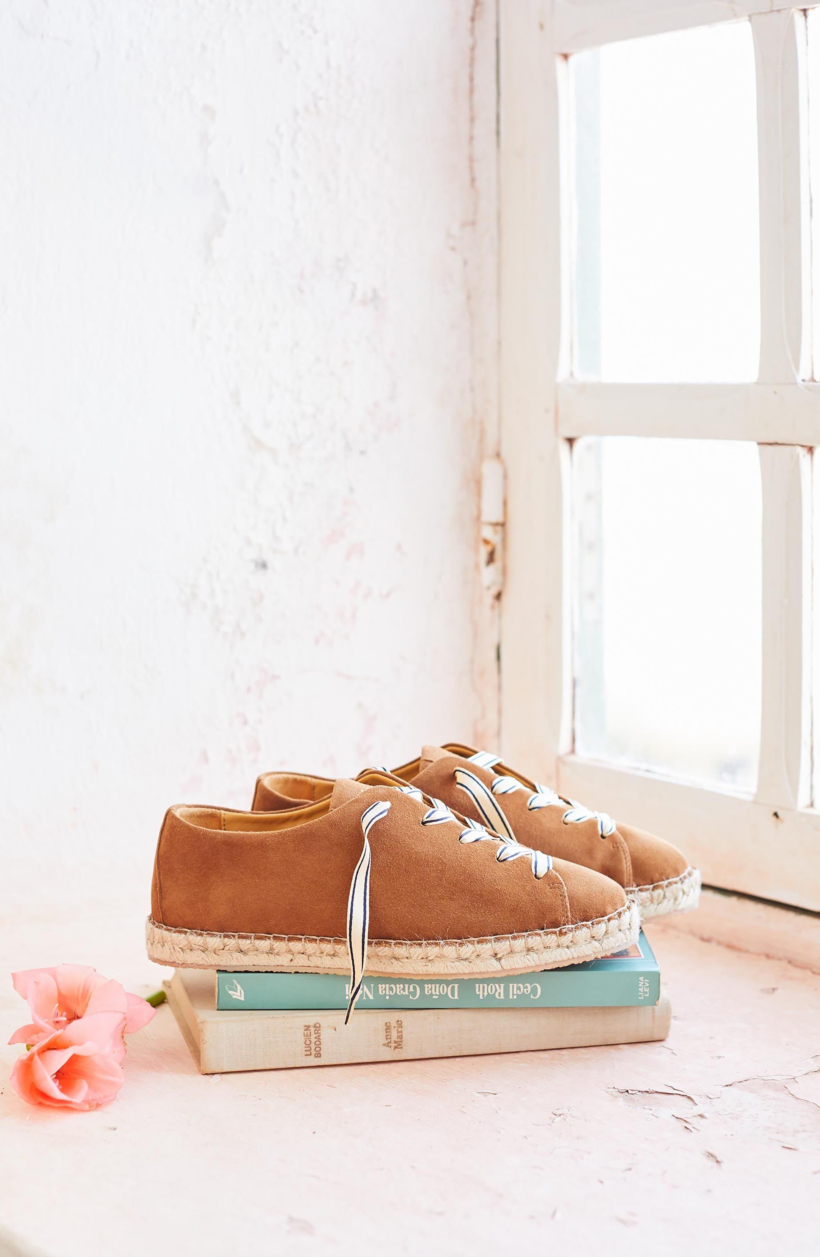 Julie Espadrille Sneaker,                             Alternate thumbnail 7, color,                             200