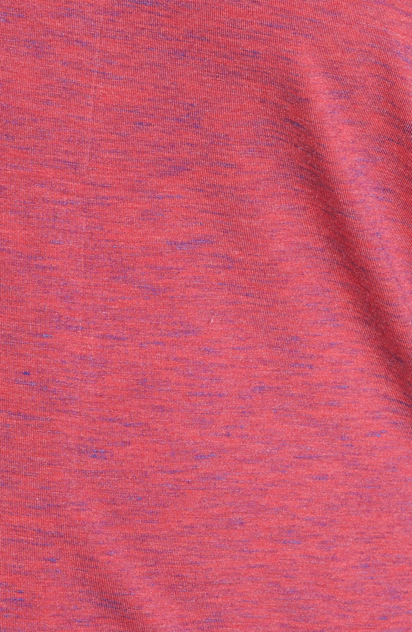 'Moonlight' Pajamas,                             Alternate thumbnail 5, color,                             BURGUNDY SPACEDYE