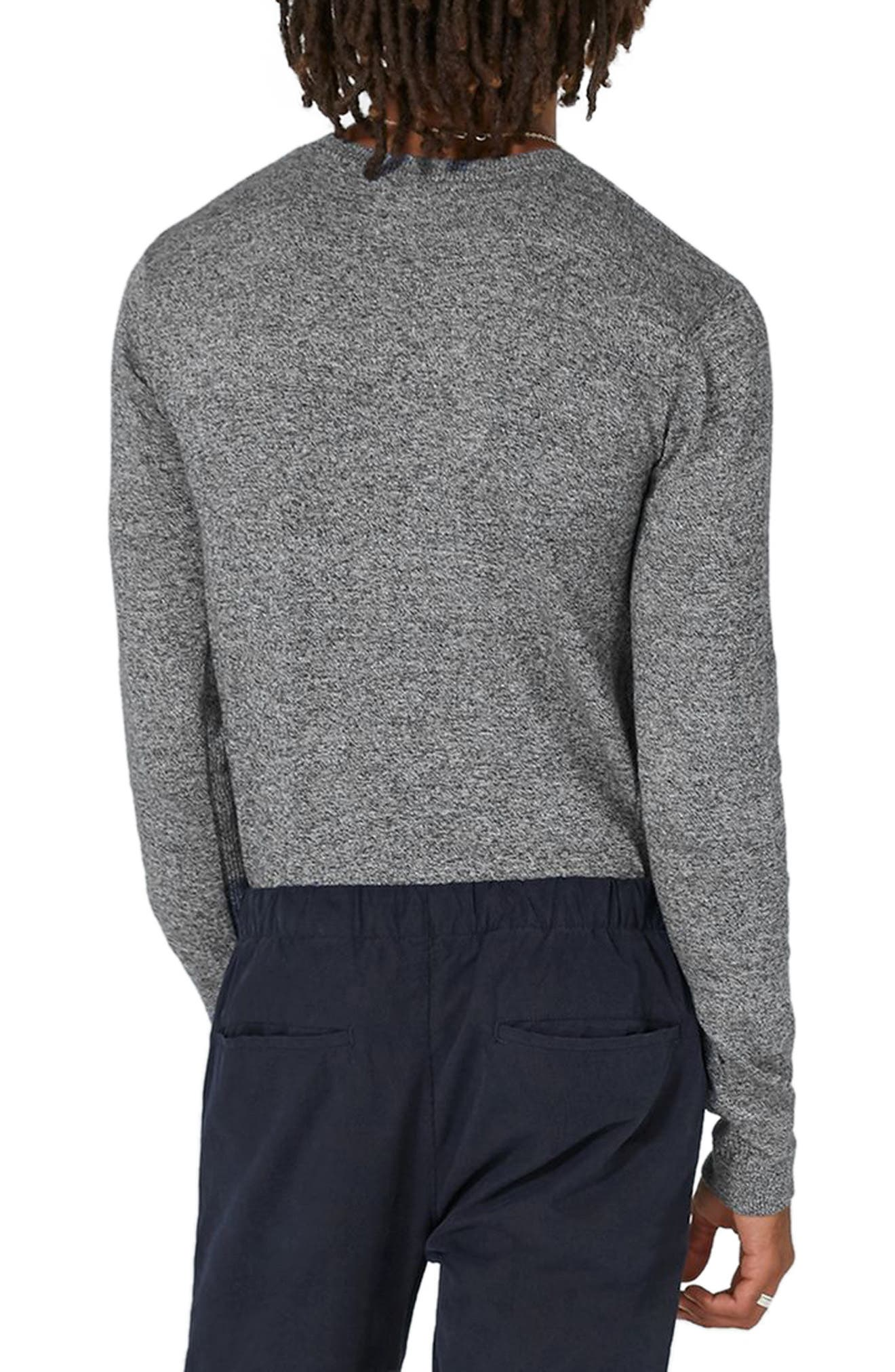 Side Ribbed Slim Fit Sweater,                             Alternate thumbnail 10, color,