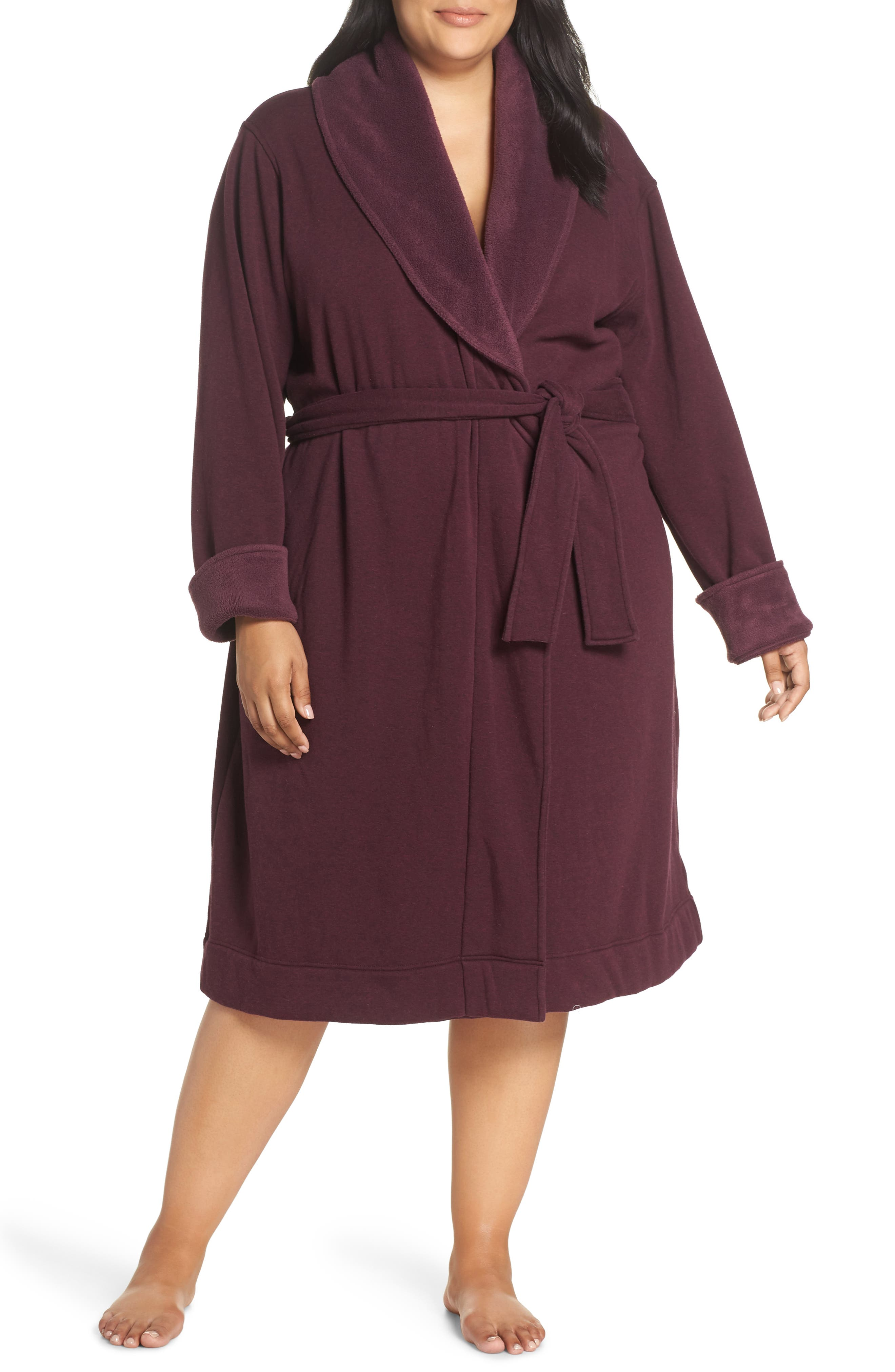 Duffield II Robe,                         Main,                         color, PORT HEATHER
