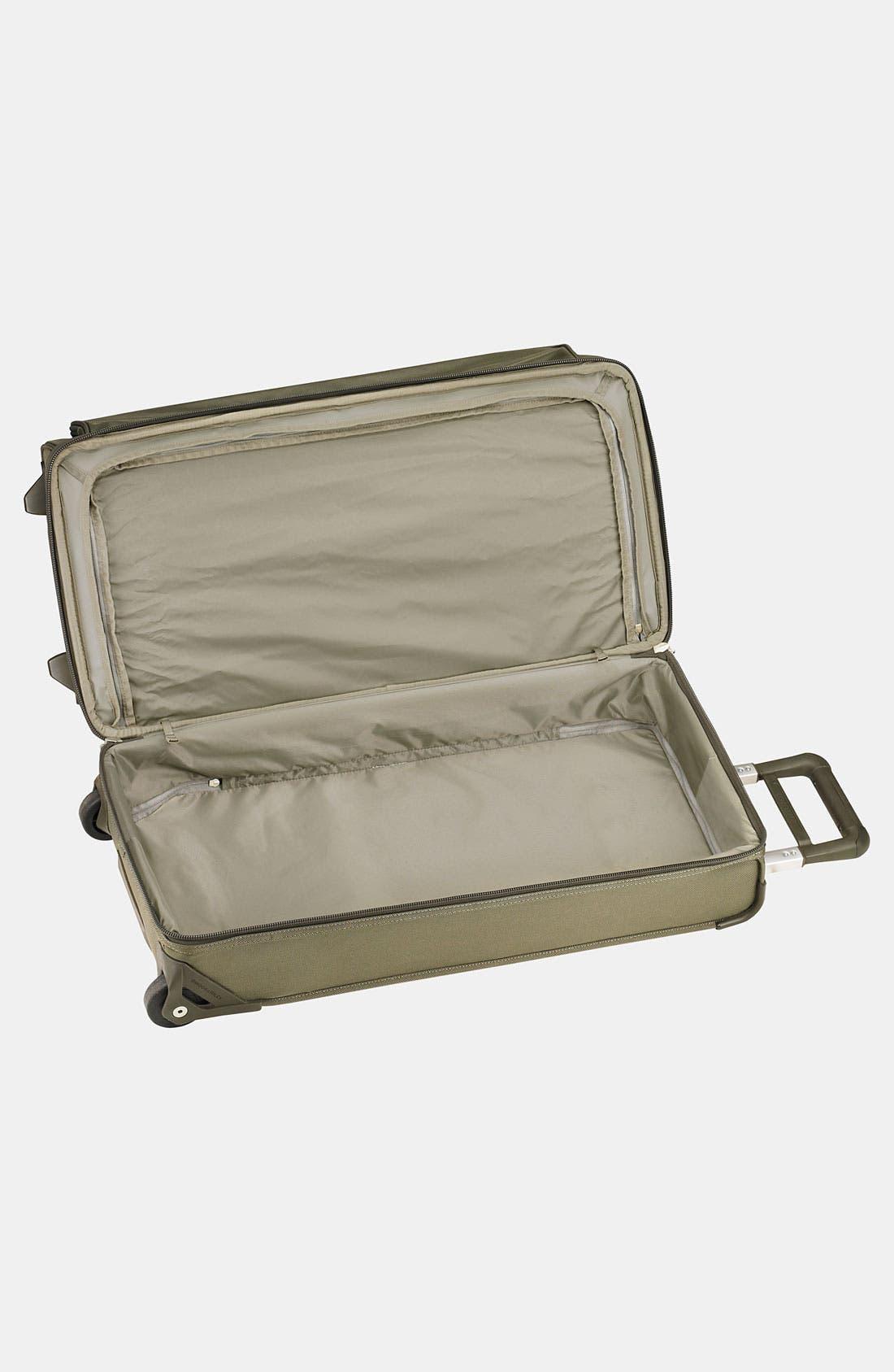 Large Baseline 29-Inch Rolling Duffel Bag,                             Alternate thumbnail 3, color,                             OLIVE