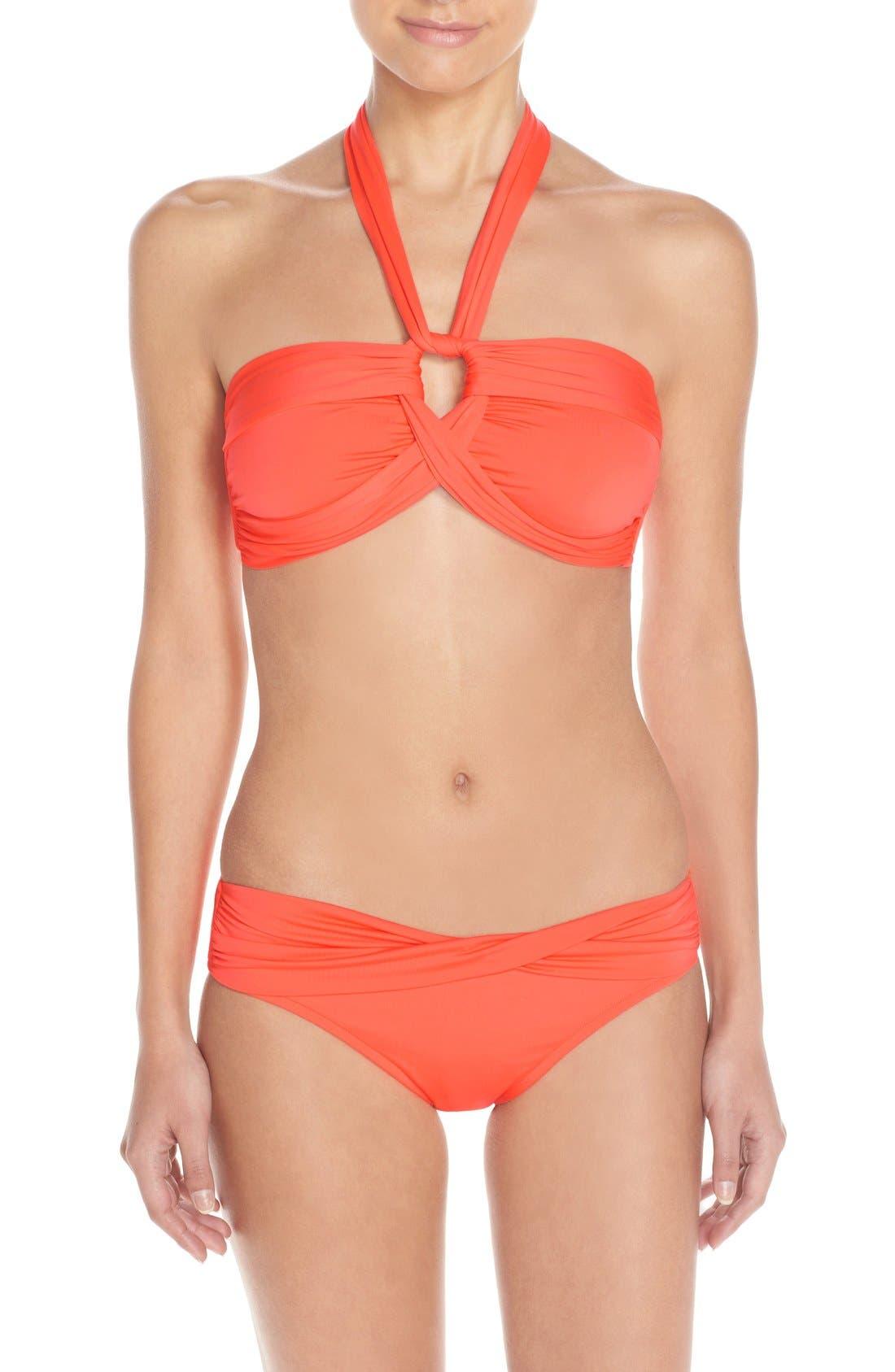 Halter Bikini Top,                             Alternate thumbnail 49, color,