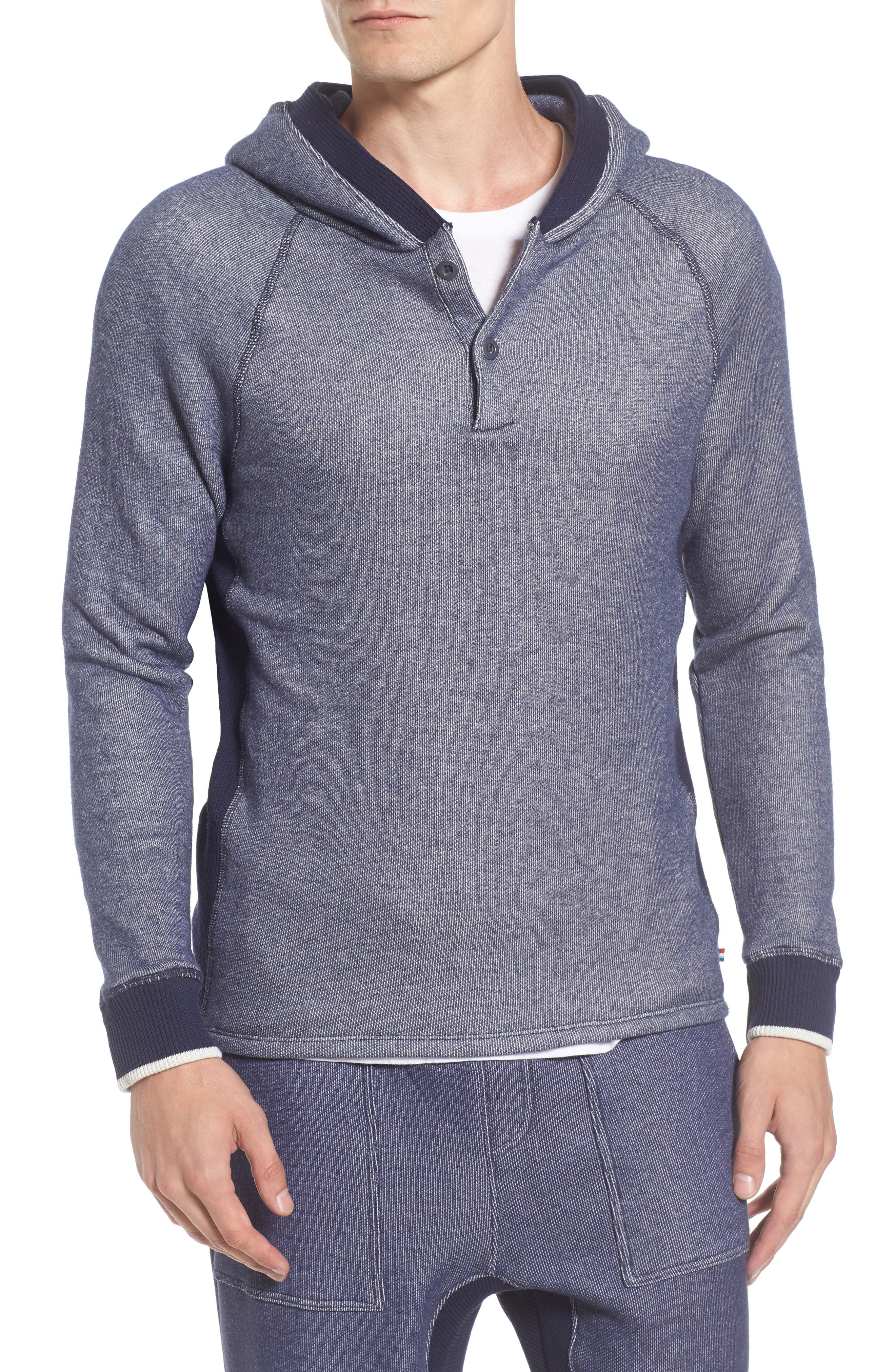 Roma Hooded Henley,                         Main,                         color, 401