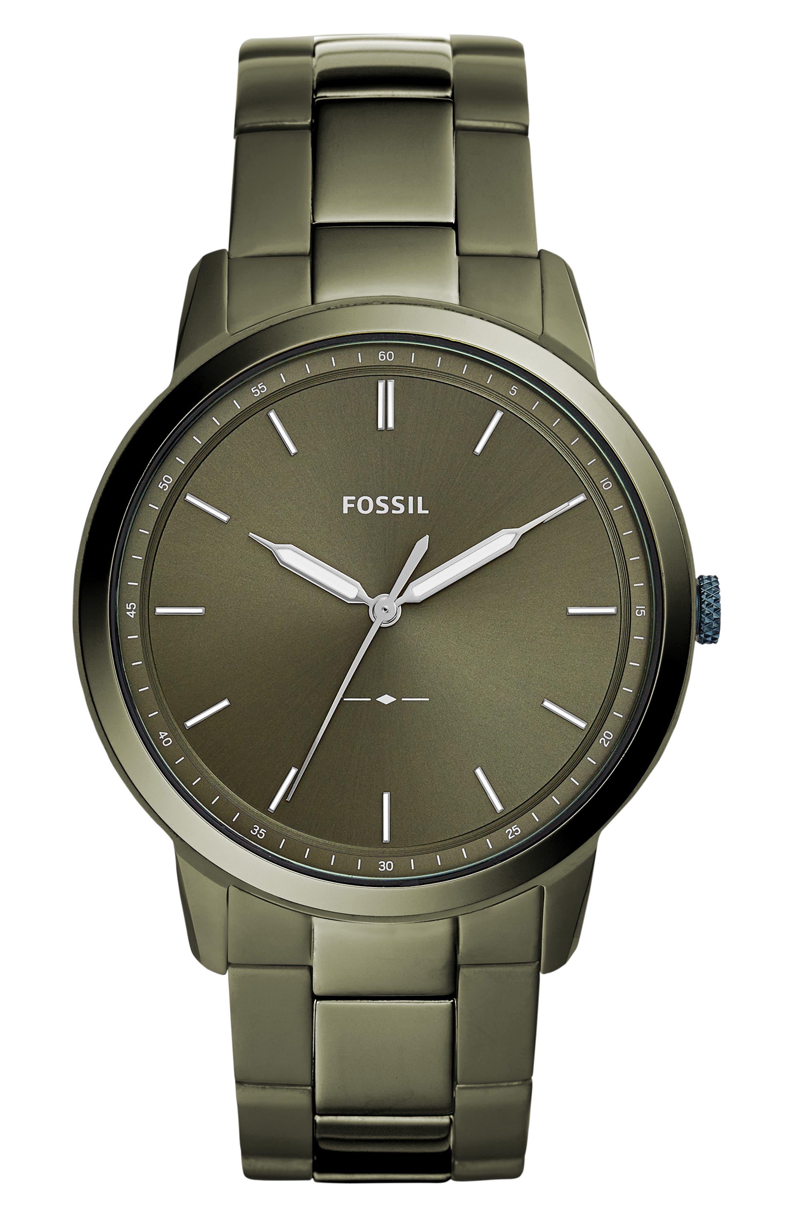 Minimalist Bracelet Watch, 44mm,                             Main thumbnail 3, color,