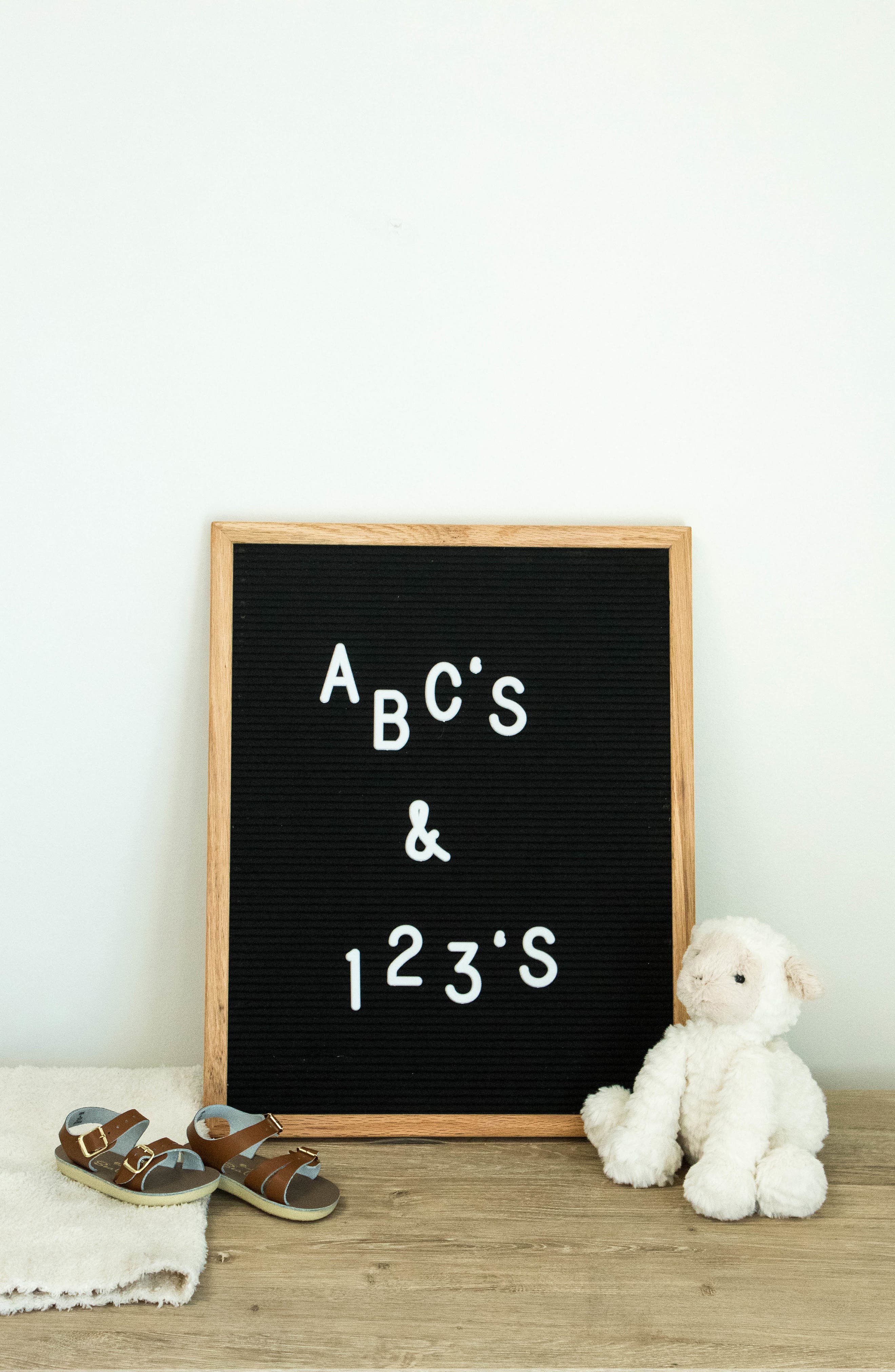 The Chit Chat Letterboard,                             Alternate thumbnail 7, color,                             BLACK