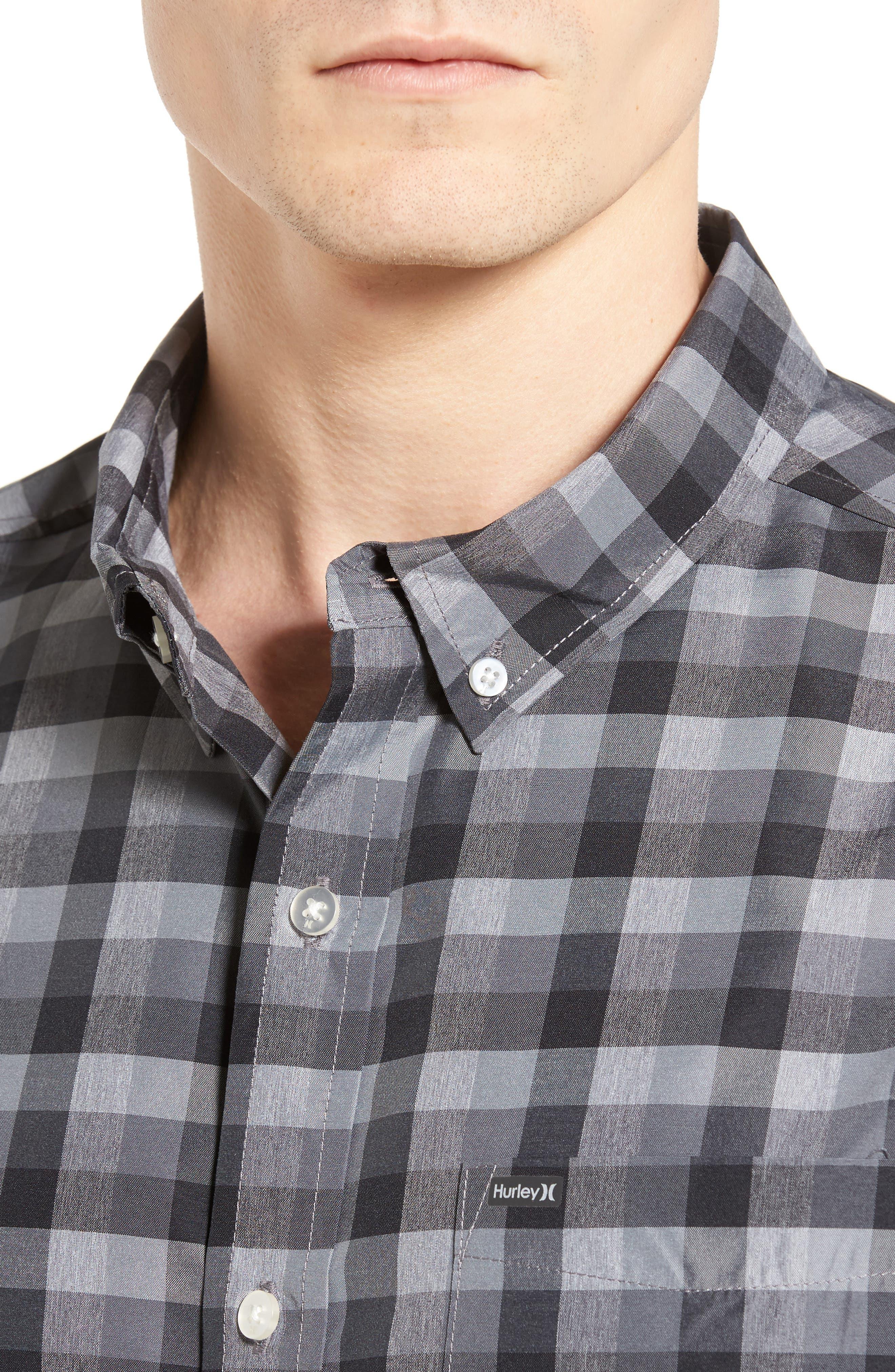 Check Dri-FIT Shirt,                             Alternate thumbnail 7, color,