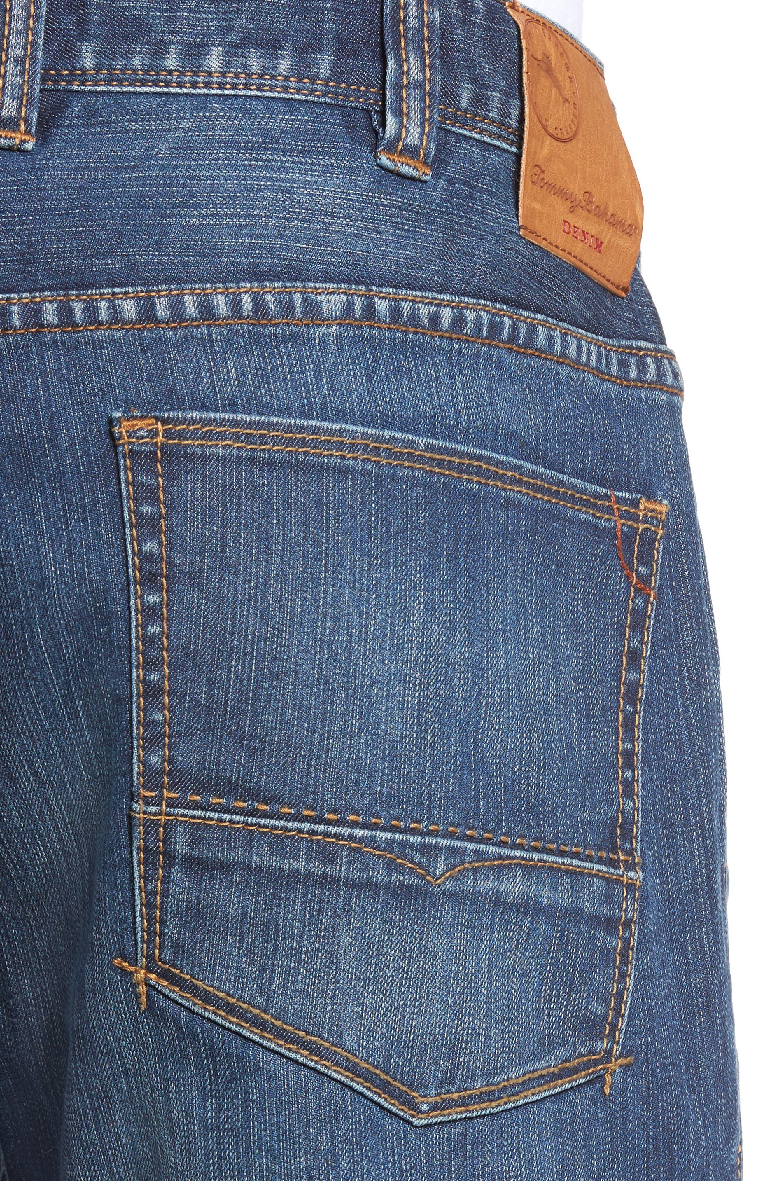 Sorrento Straight Leg Jeans,                             Alternate thumbnail 4, color,                             400